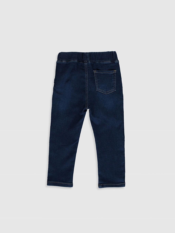 %63 Pamuk %32 Polyester %5 Elastan Aksesuarsız Astarsız Skinny Jean Düz Erkek Bebek Jean Pantolon
