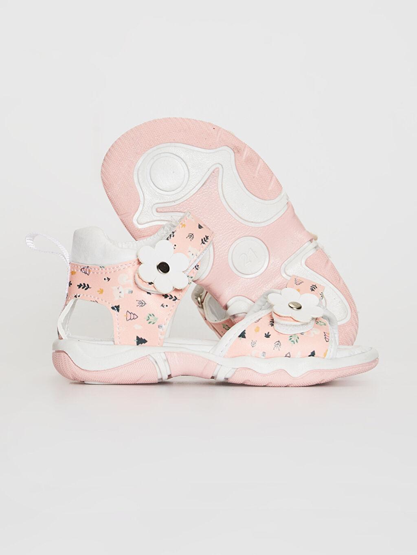 Kız Bebek Kız Bebek Cırt Cırtlı Şık Sandalet