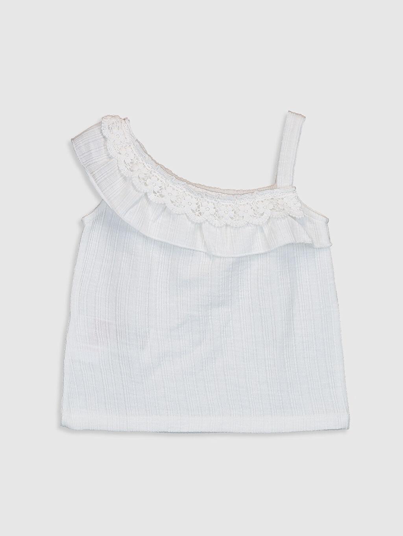 %67 Pamuk %33 Polyester Askılı Suprem A Kesim Atlet Standart Düz Diğer Smart Casual Kız Bebek Basic Tişört