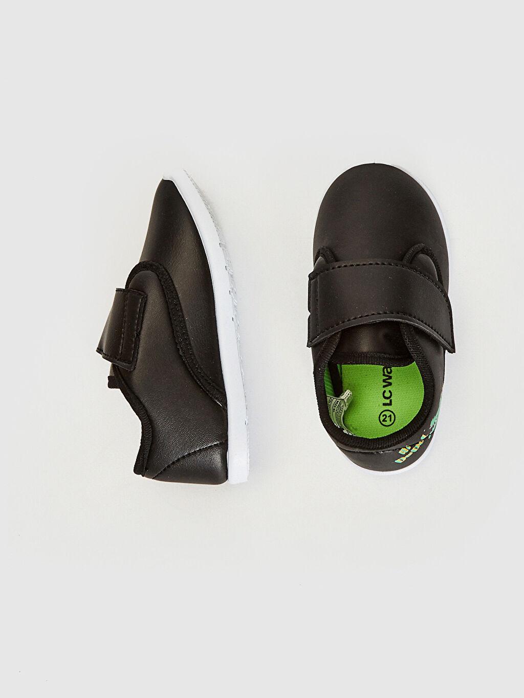 Diğer malzeme (pvc) Cırt Cırt Işıksız Sneaker Erkek Bebek Cırt Cırtlı Günlük Spor Ayakkabı
