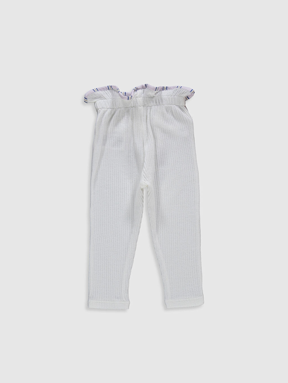 %100 Pamuk %100 Pamuk Tayt Standart İnce Düz Standart Suprem Şık Kız Bebek Pantolon