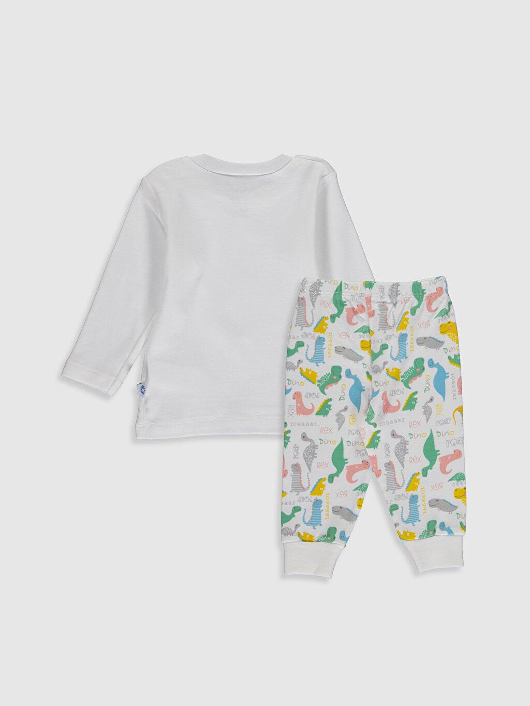 Pijama Takım  Luggi Baby Yenidoğan Baskılı Pijama Takımı