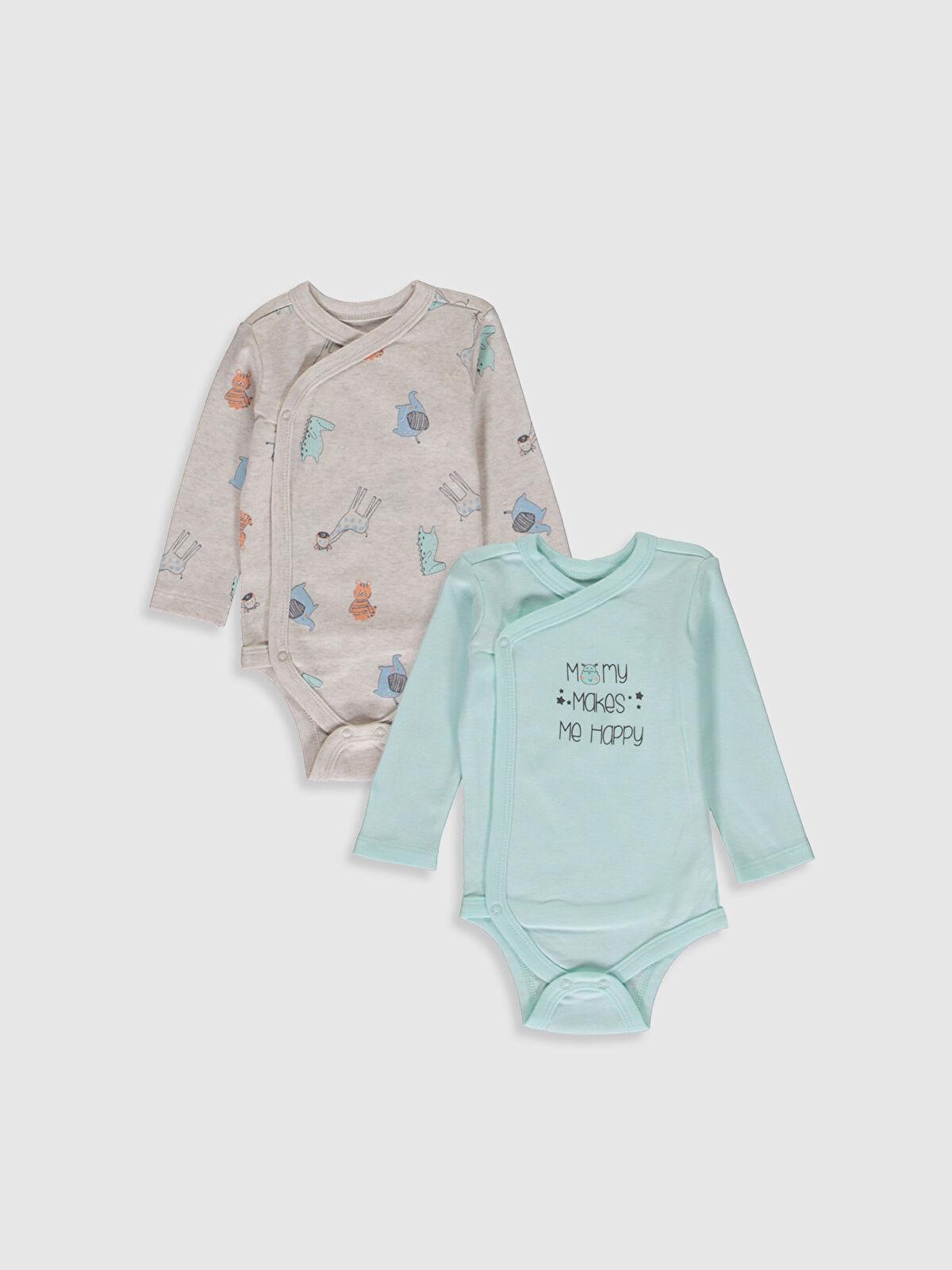 Erkek Bebek Çıtçıtlı Body 2'li - LC WAIKIKI