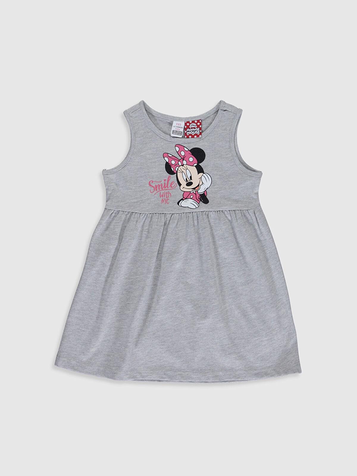 Kız Bebek Minnie Mouse Baskılı Elbise - LC WAIKIKI