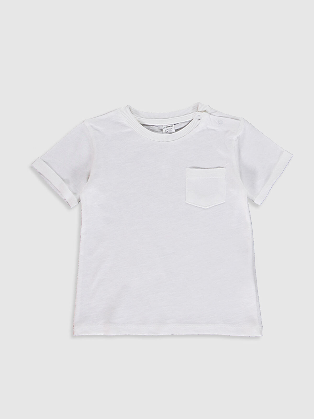 Erkek Bebek Pamuklu Basic Tişört - LC WAIKIKI