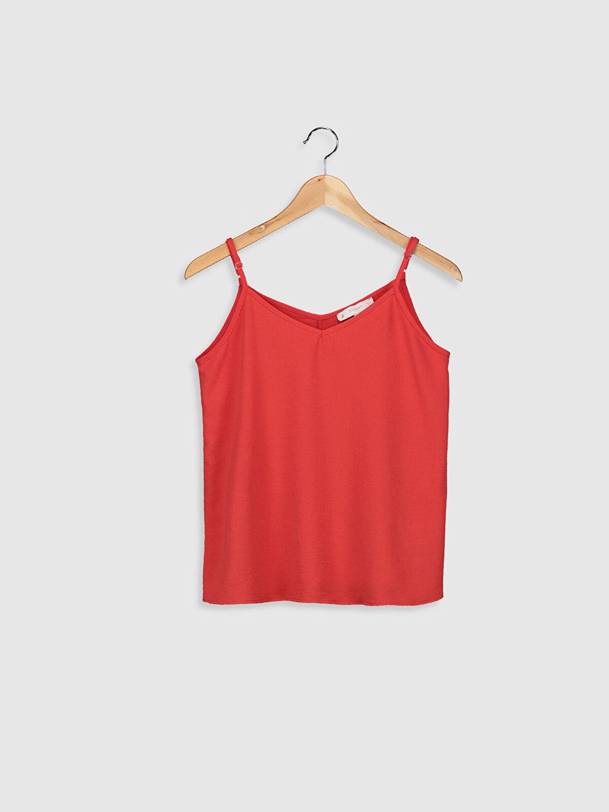 Sateen Ayarlanabilir Askılı Bluz - Markalar