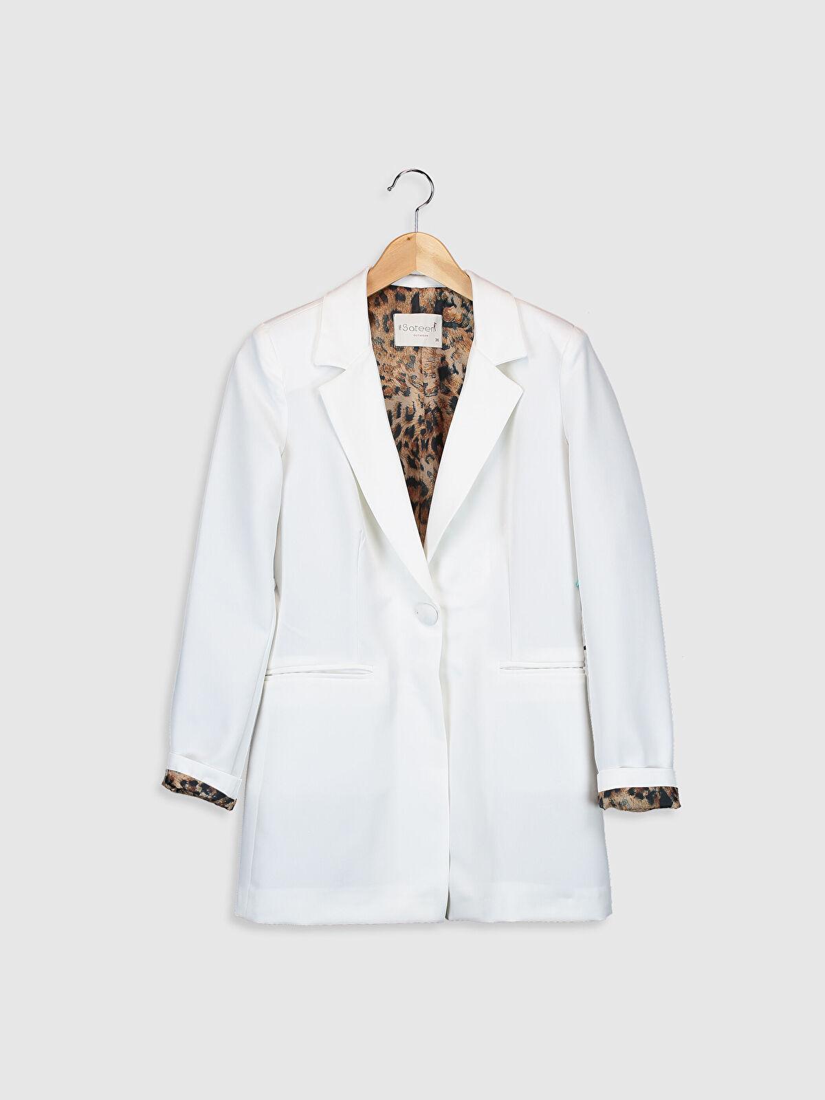 Sateen Blazer Ceket - Markalar