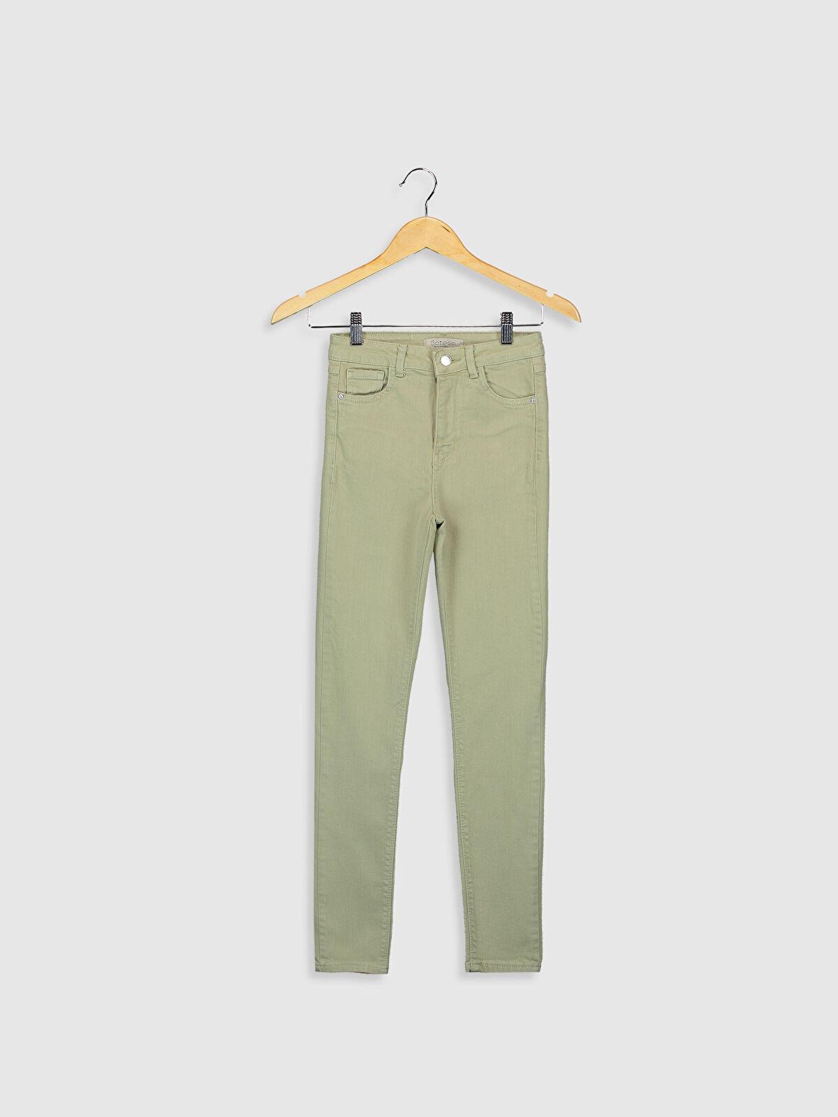 Sateen Skinny Pantolon - Markalar