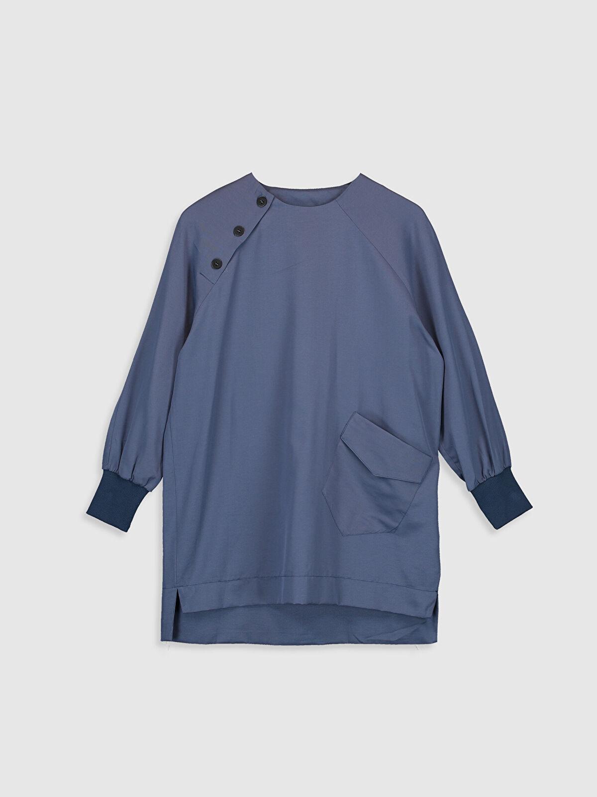 Allday Düğme Detaylı Tunik - Markalar