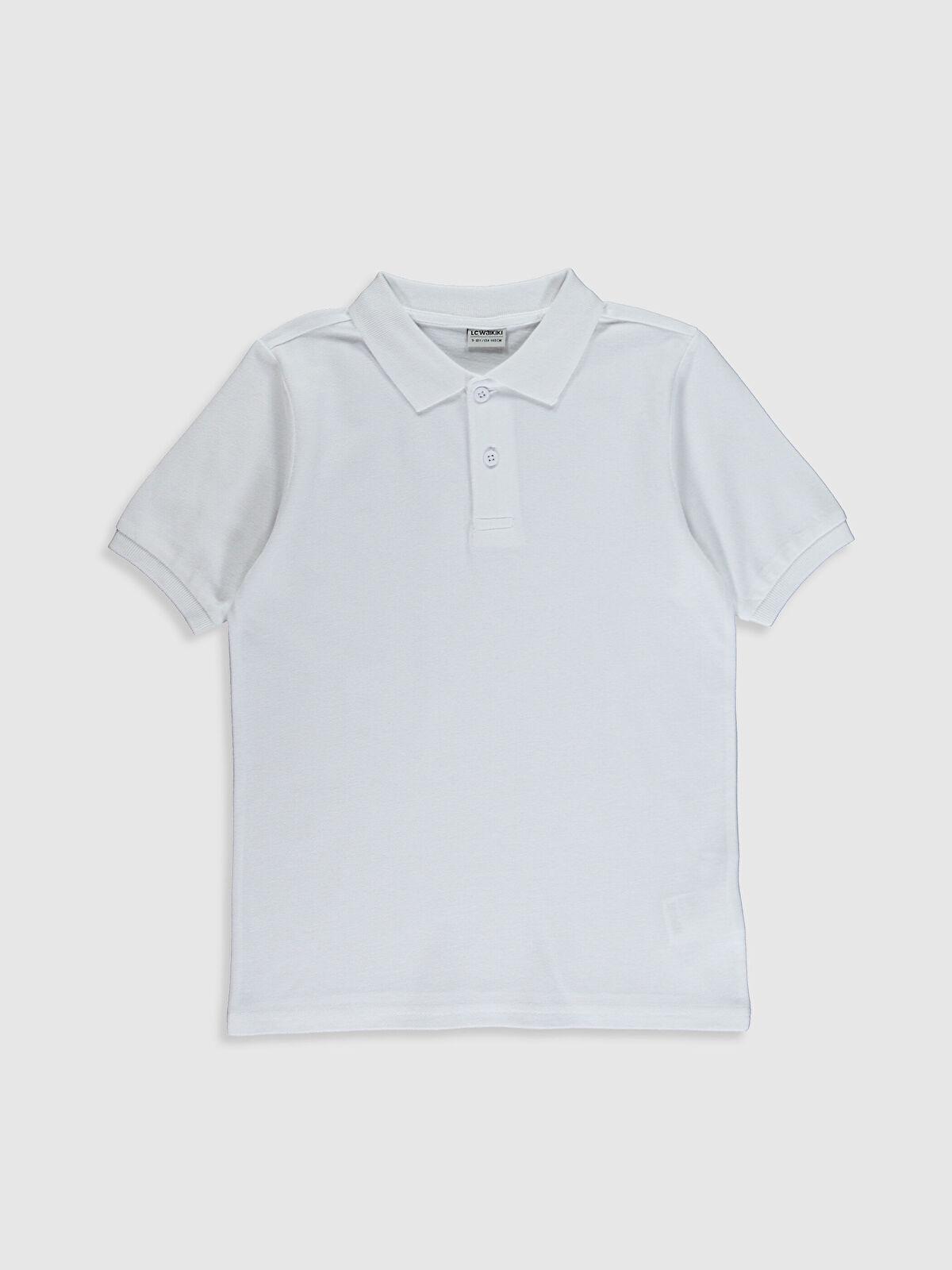 Erkek Çocuk Polo Yaka Pamuklu Basic Tişört - LC WAIKIKI