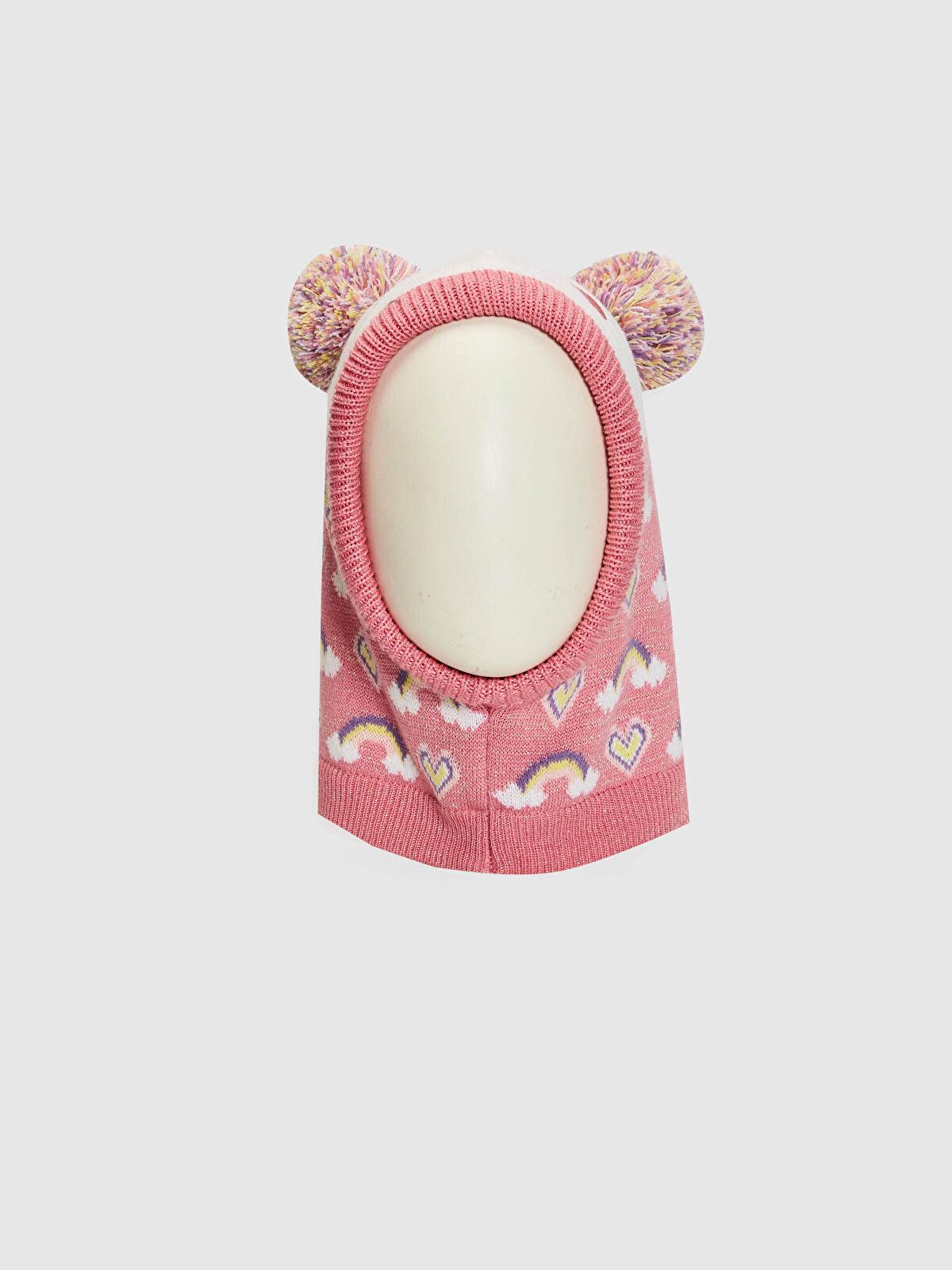 Kız Çocuk Sevimli Yüz Kar Maskesi - LC WAIKIKI
