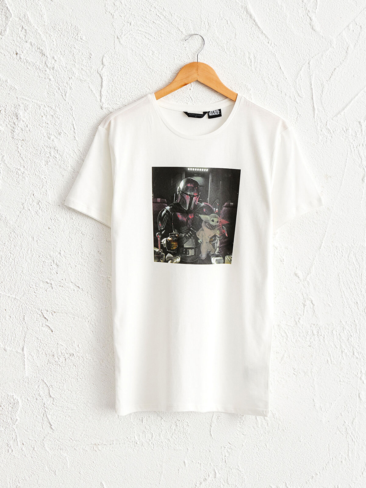 Star Wars Baskılı Pamuklu Tişört - LC WAIKIKI