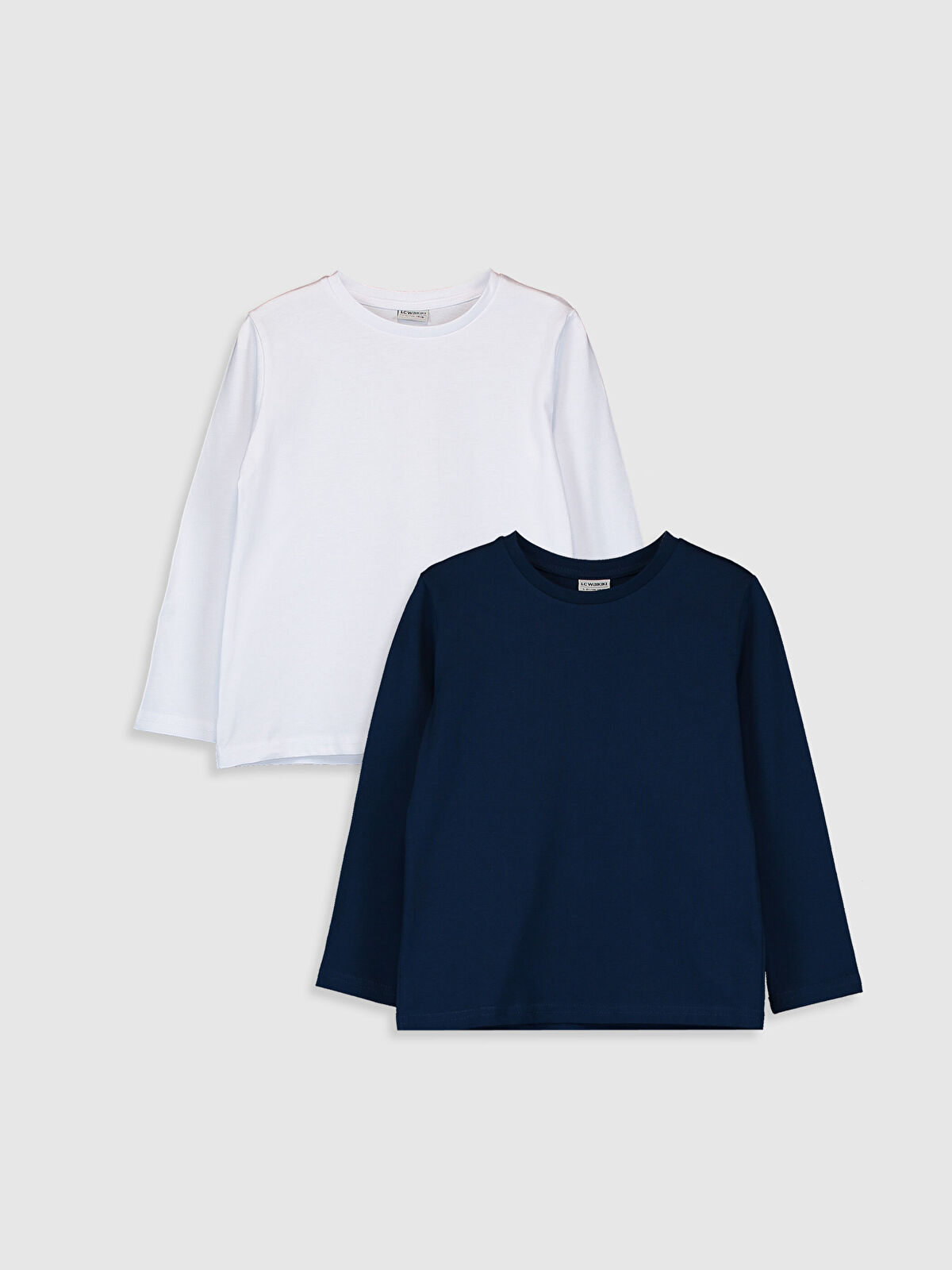 Erkek Çocuk Pamuklu Basic Tişört 2'li - LC WAIKIKI