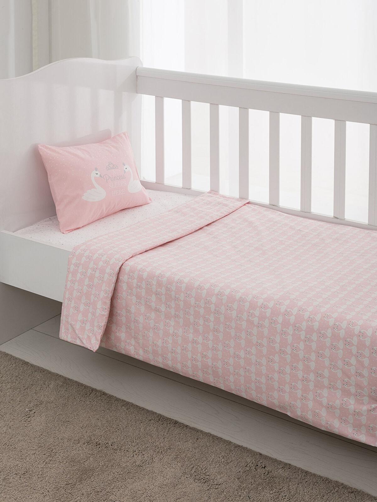 Bebek Pamuklu Nevresim Takımı - LCW HOME