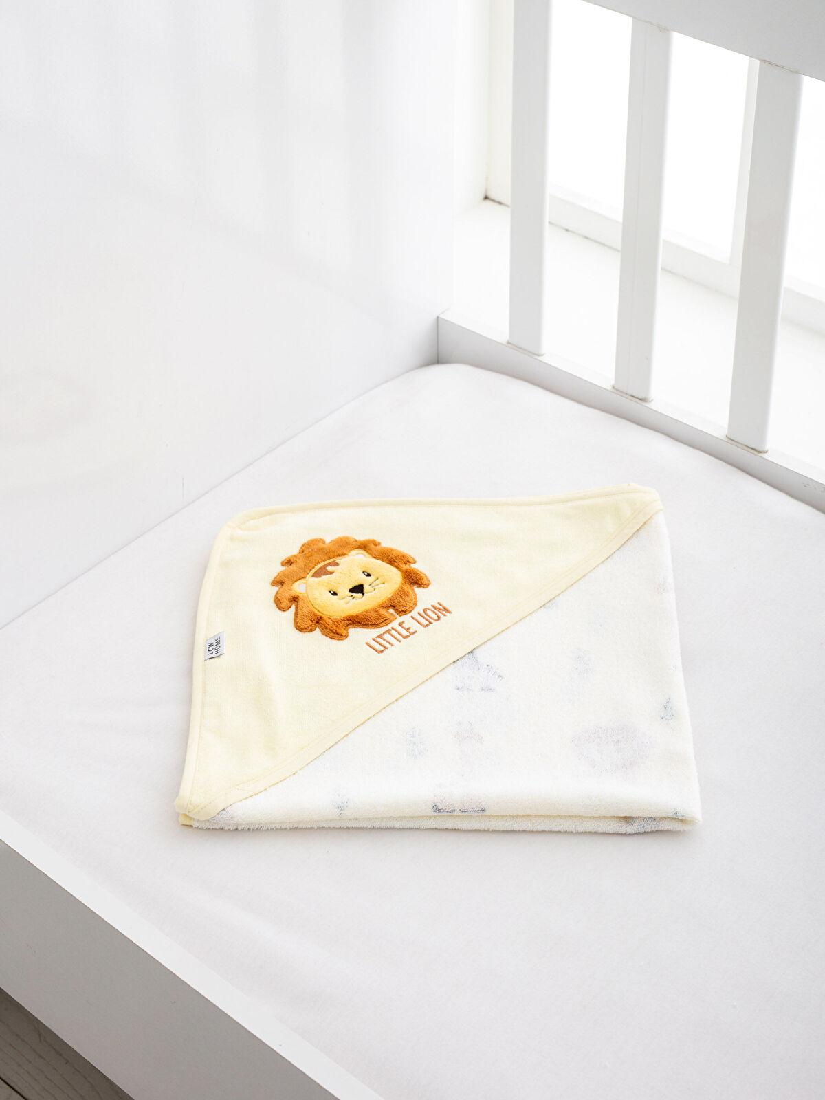 Bebek Kadife Banyo Havlusu - LCW HOME