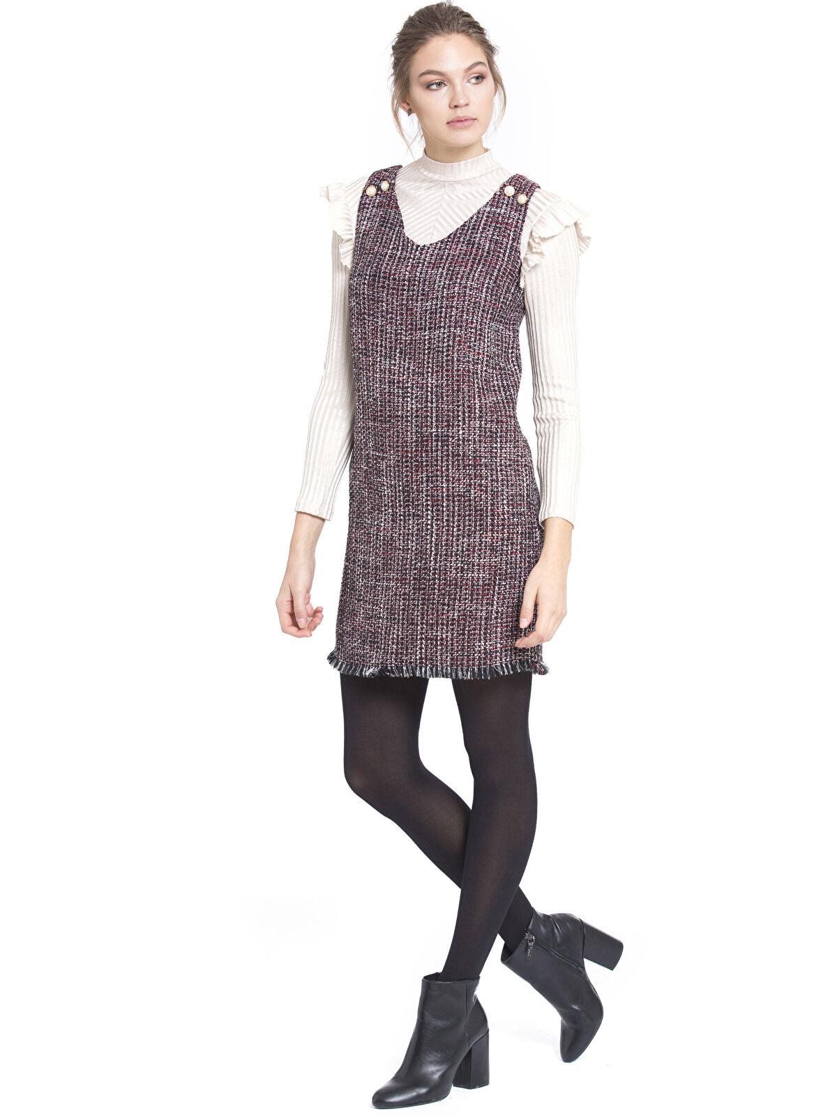 Tüvit Mini Elbise - LC WAIKIKI
