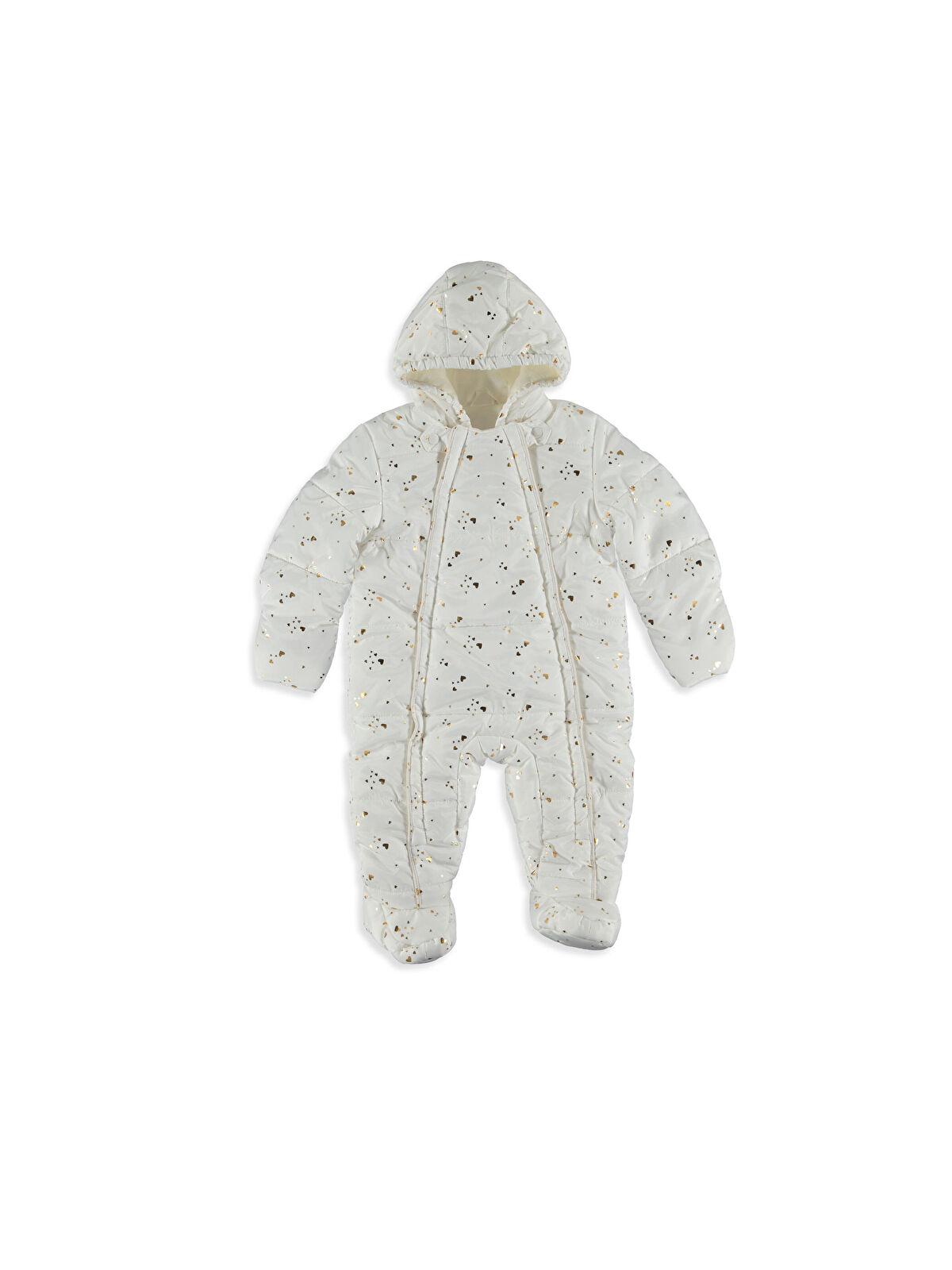 Kız Bebek Polar Astarlı Kalın Astronot Mont - LC WAIKIKI