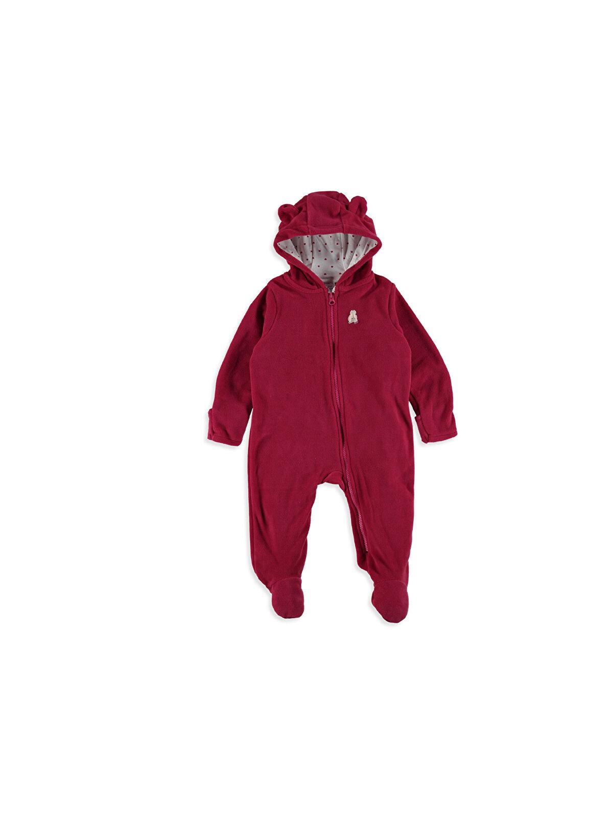 Kız Bebek Patikli Polar Tulum - LC WAIKIKI