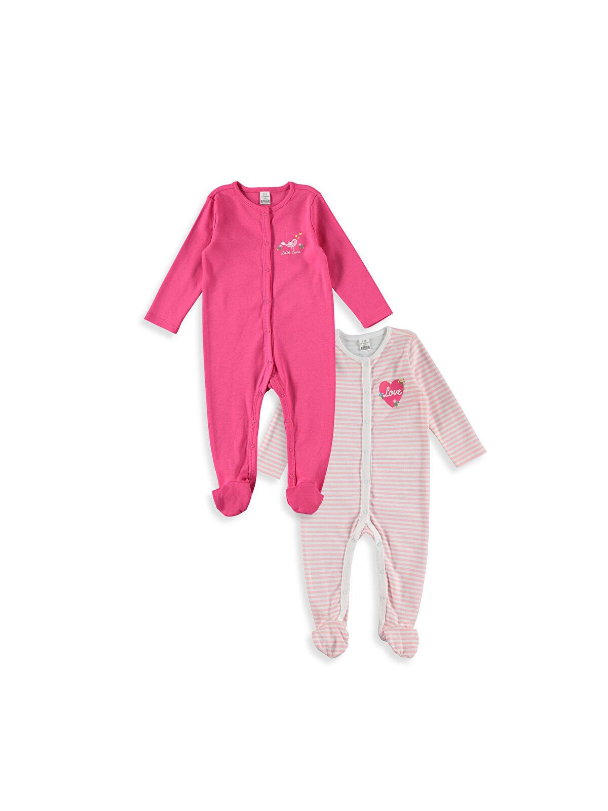 Kız Bebek Patikli Tulum 2'li - LC WAIKIKI