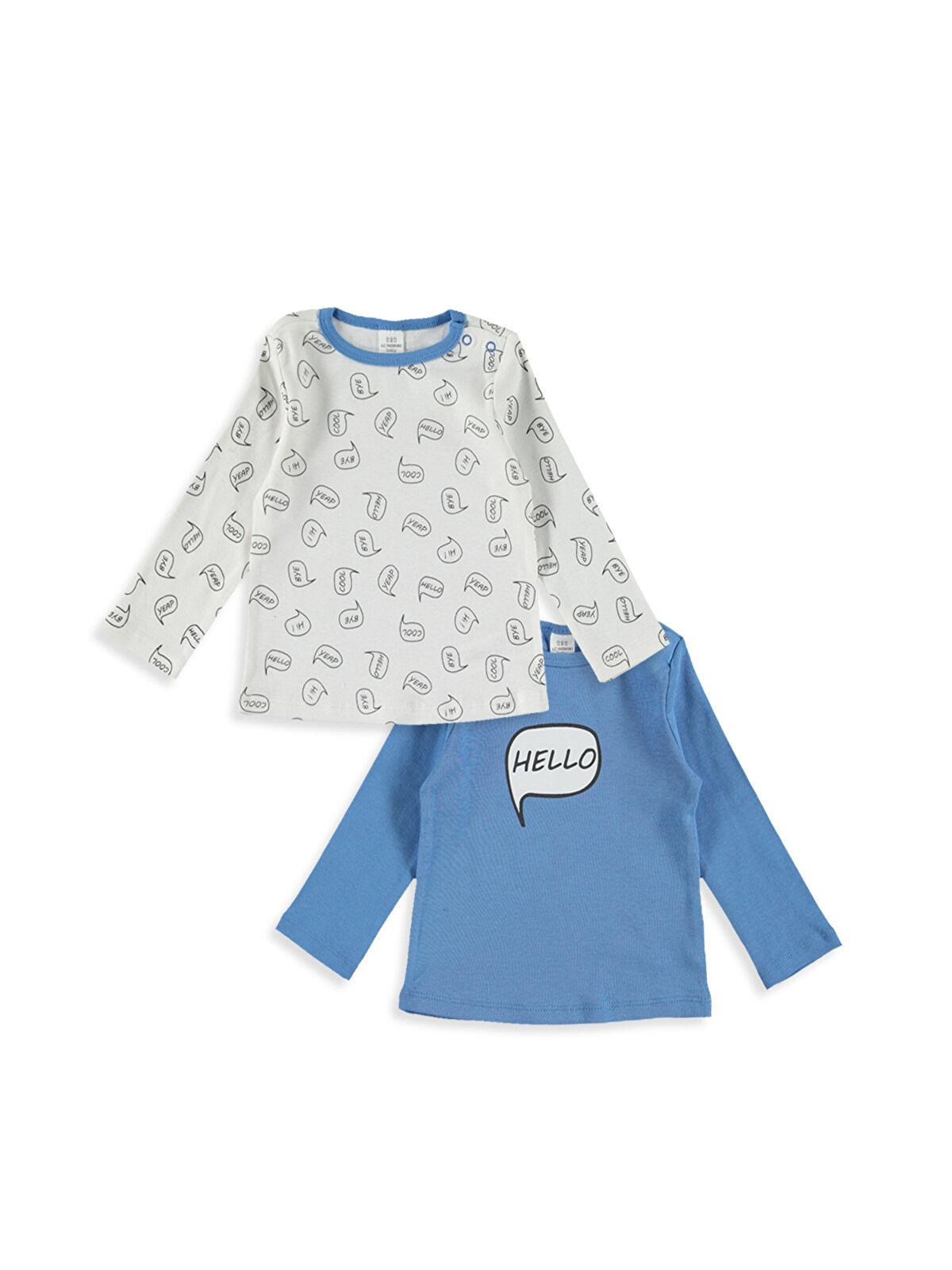 Erkek Bebek Pijama Üst 2'li - LC WAIKIKI