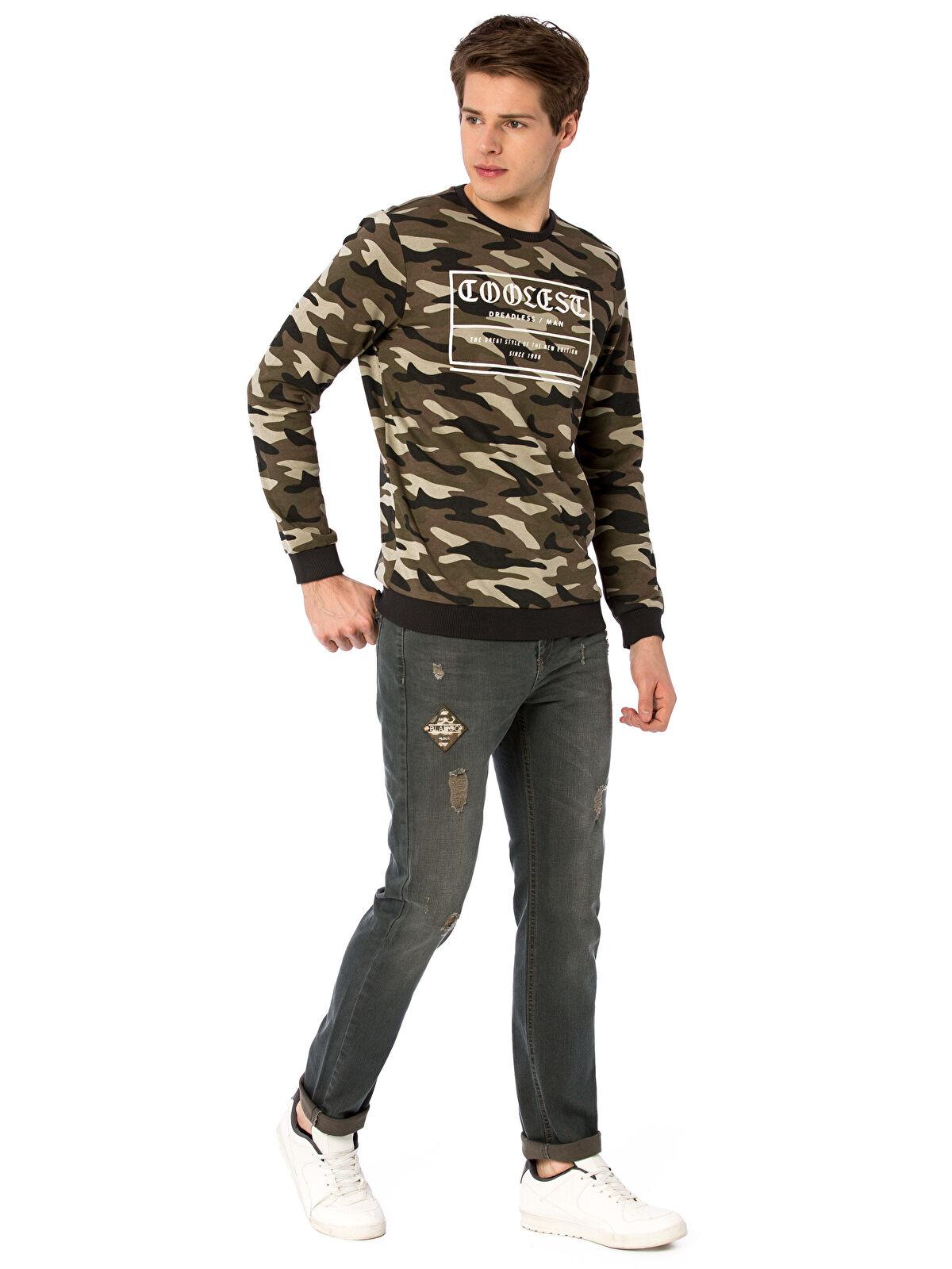 Yırtık Detaylı Slim Jean Pantolon - LC WAIKIKI