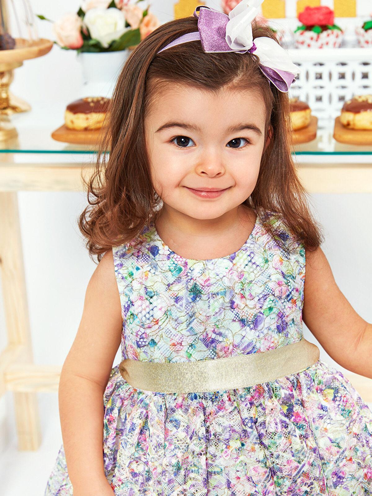 Kız Bebek Dantelli Şık Elbise - LC WAIKIKI