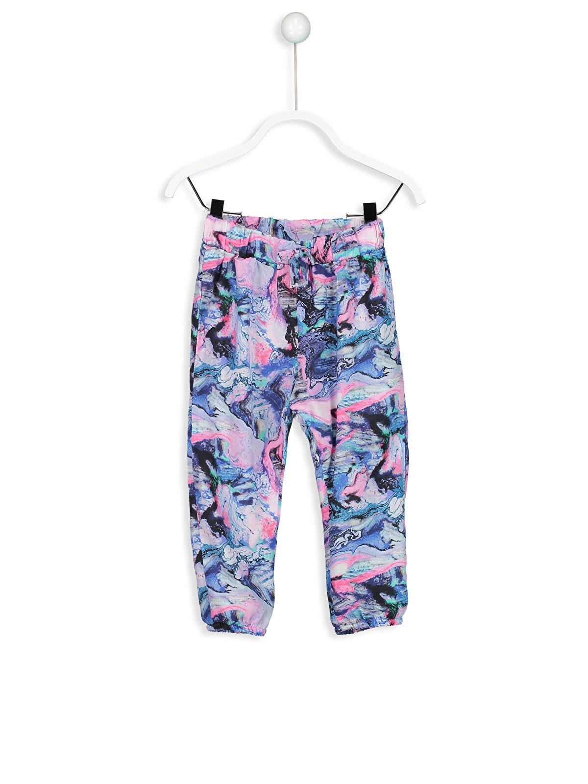 Kız Bebek Viskon Harem Pantolon - LC WAIKIKI