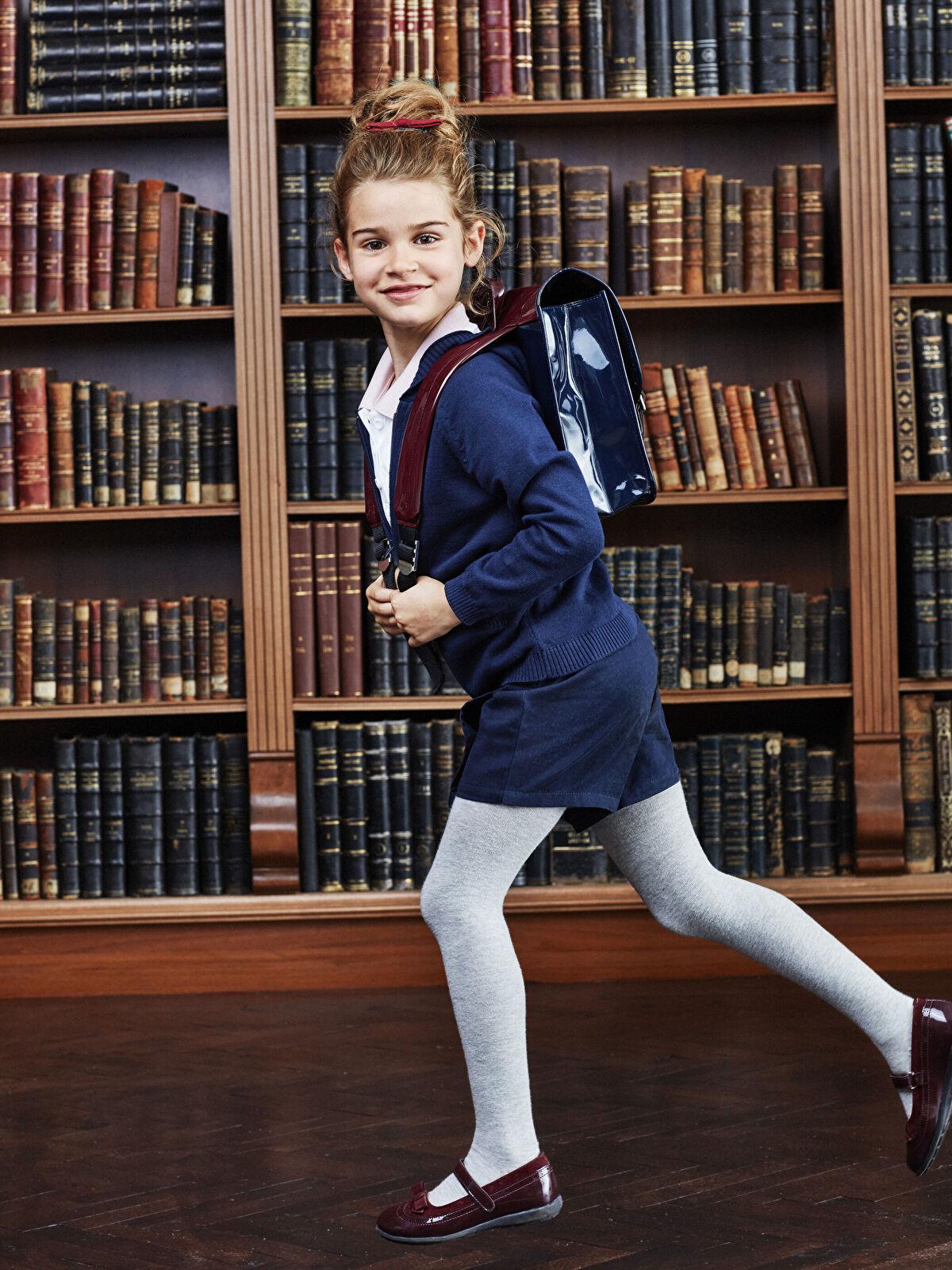 Kız Çocuk Rugan Cırt Cırtlı Ayakkabı - LC WAIKIKI