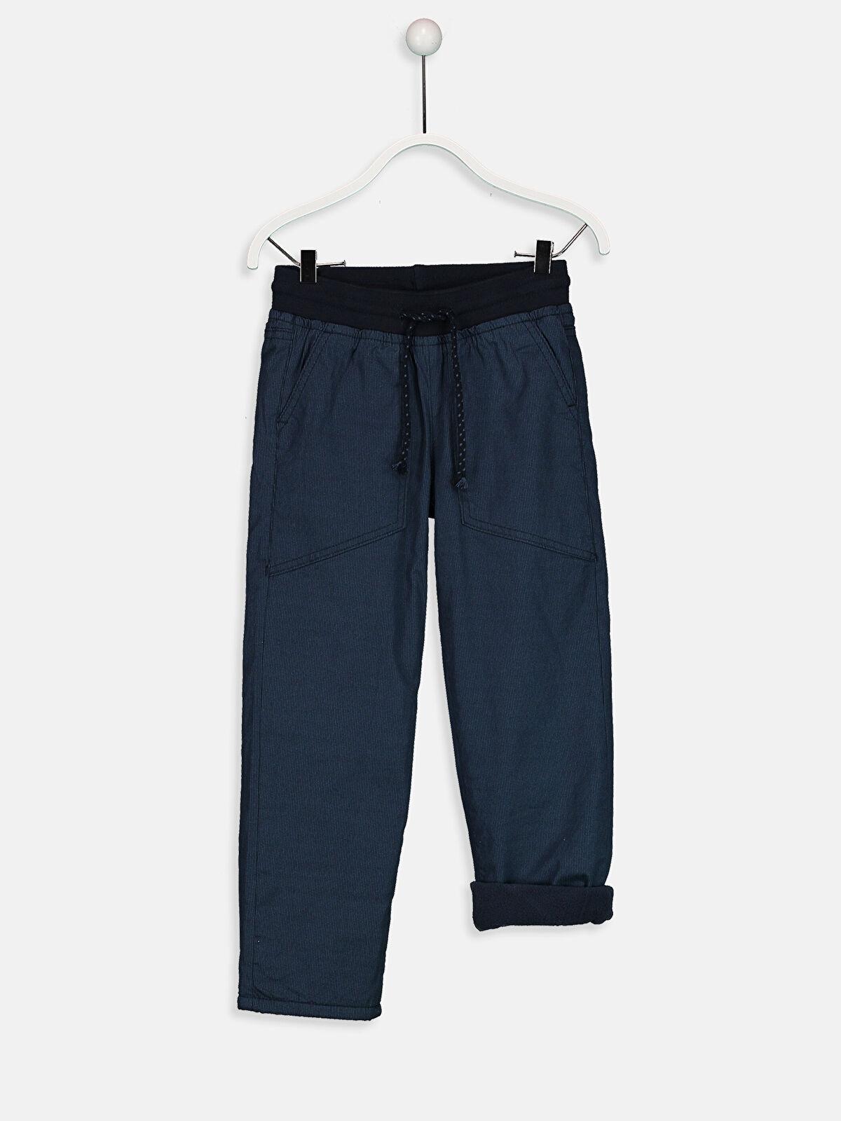 Erkek Çocuk Beli Lastikli Armürlü Pantolon - LC WAIKIKI