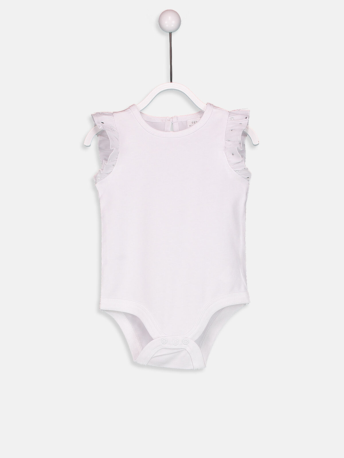 Kız Bebek Çıtçıtlı Body - LC WAIKIKI