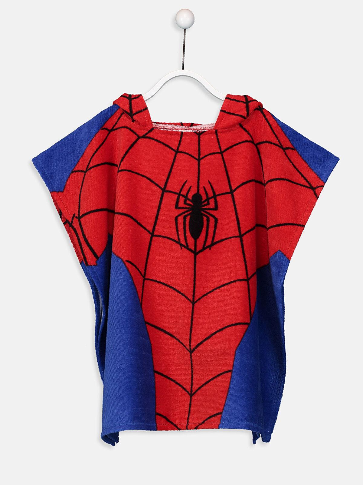 Spiderman Kapüşonlu Panço - LCW HOME