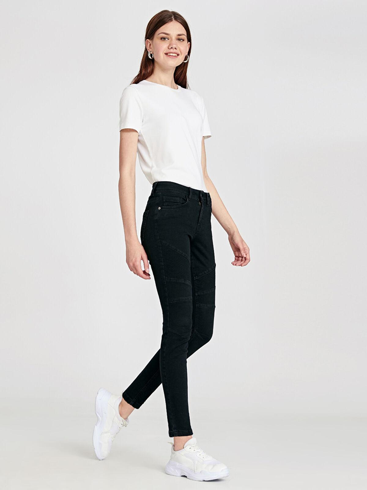 Dikiş Detaylı Skinny Jean Pantolon - LC WAIKIKI