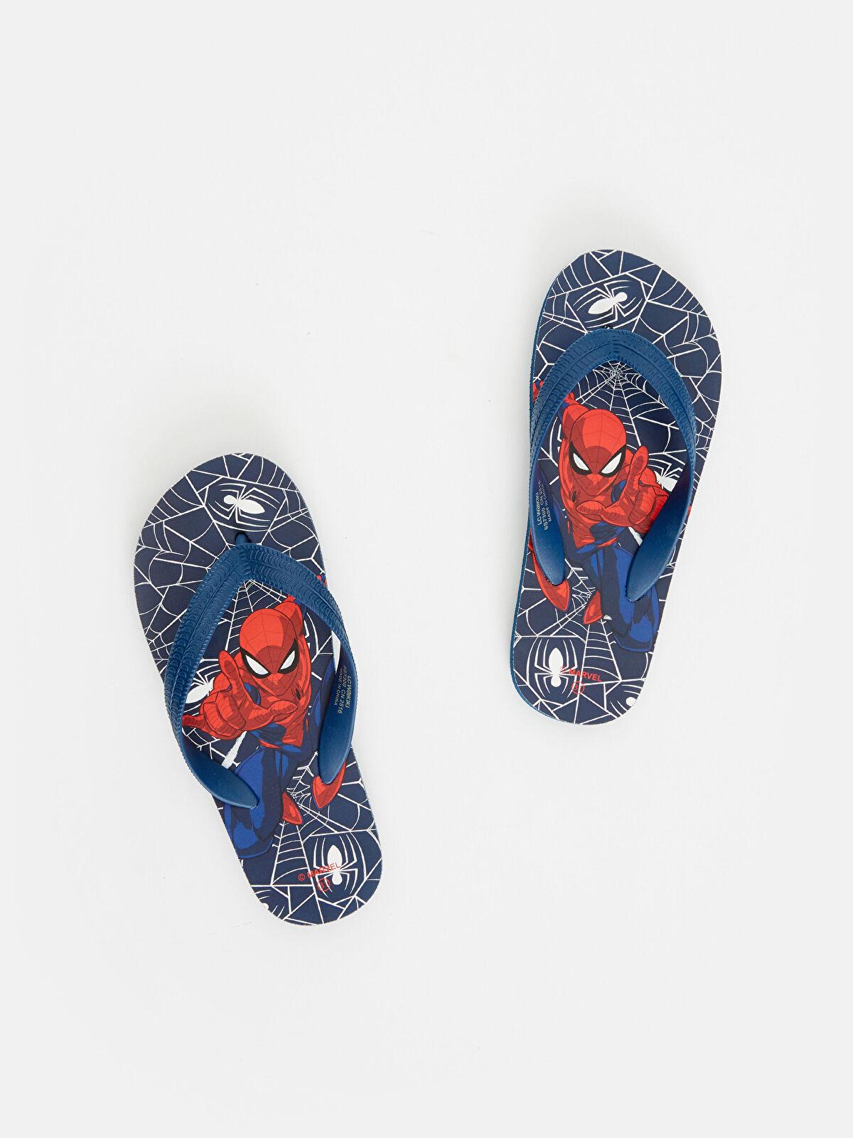 Erkek Çocuk Spiderman Parmak Arası Terlik - LC WAIKIKI