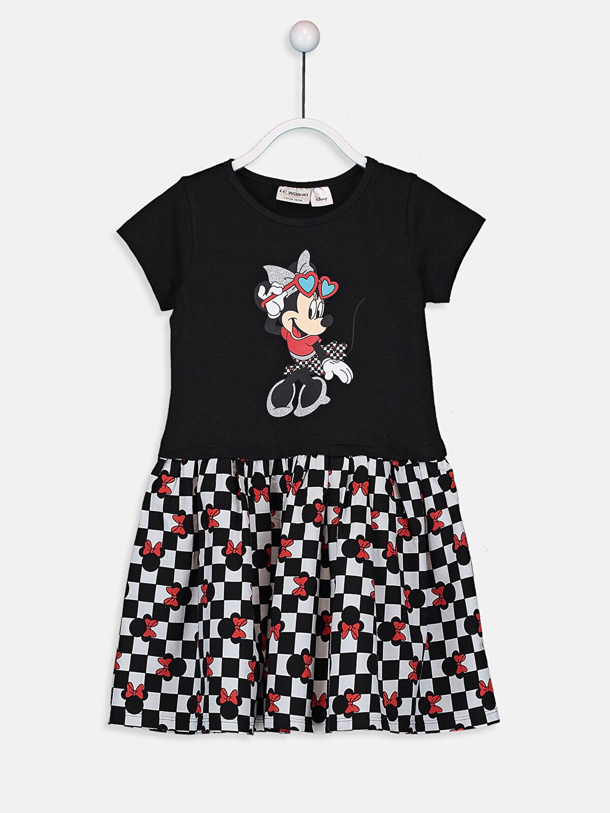 Kız Çocuk Minnie Mouse Pamuklu Elbise - LC WAIKIKI
