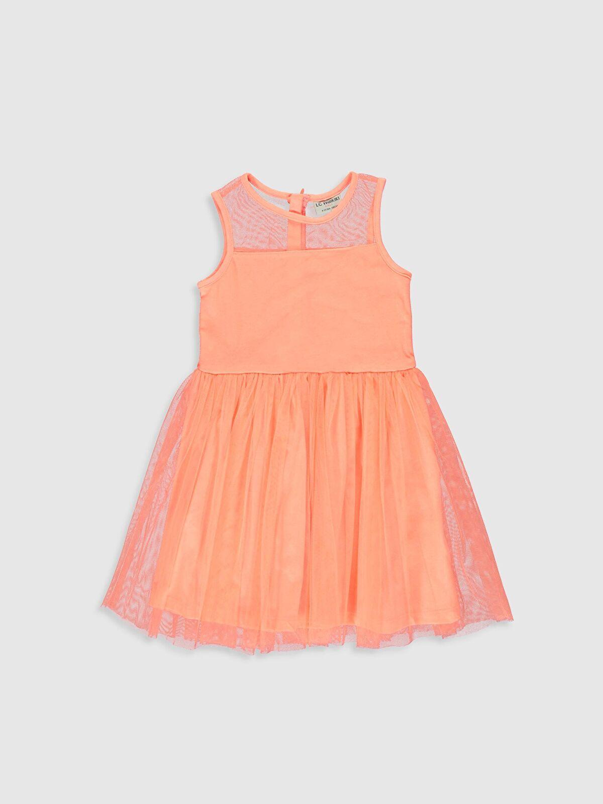 Kız Çocuk Tüllü Elbise - LC WAIKIKI