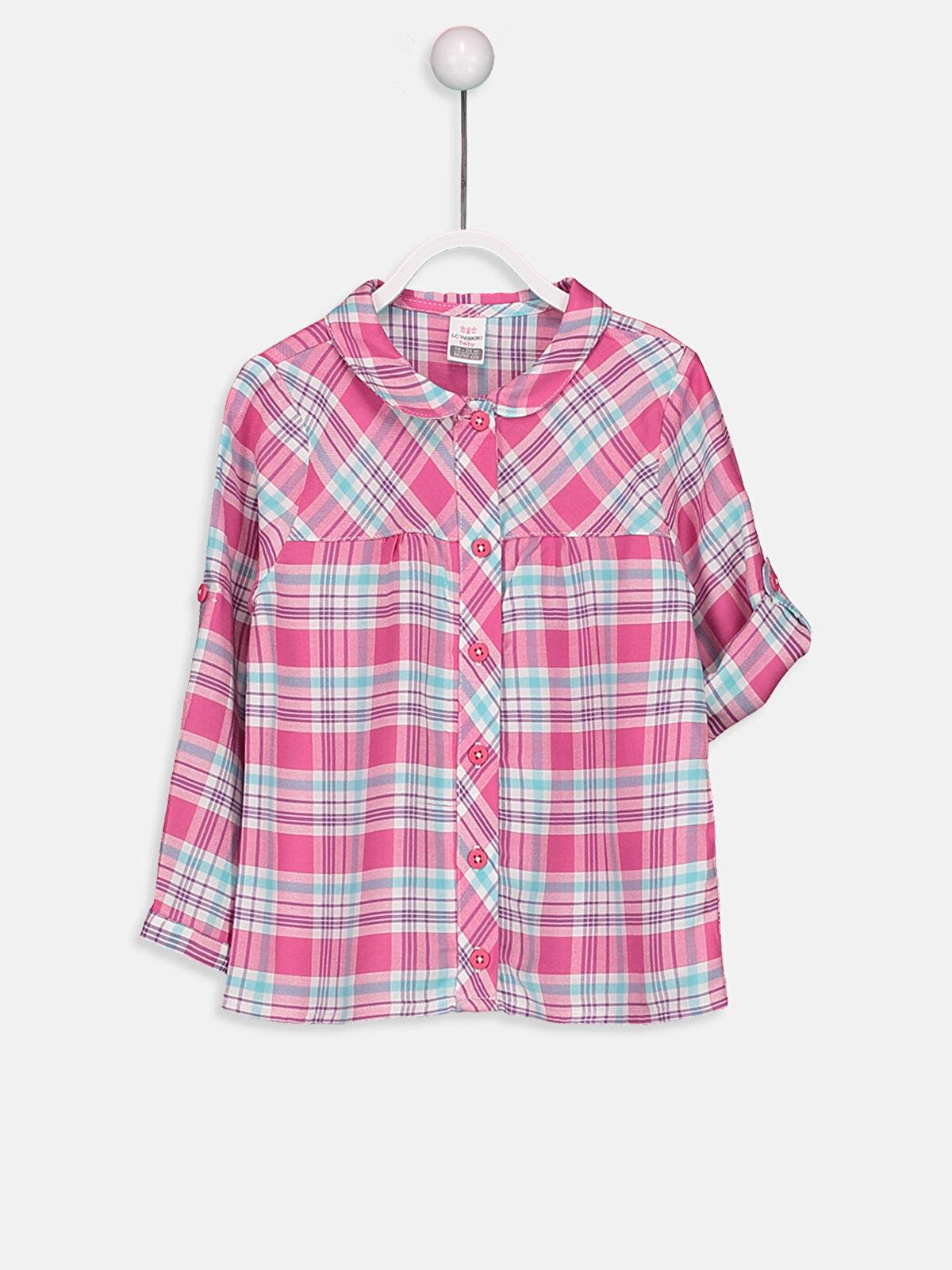 Kız Bebek Ekose Gömlek - LC WAIKIKI