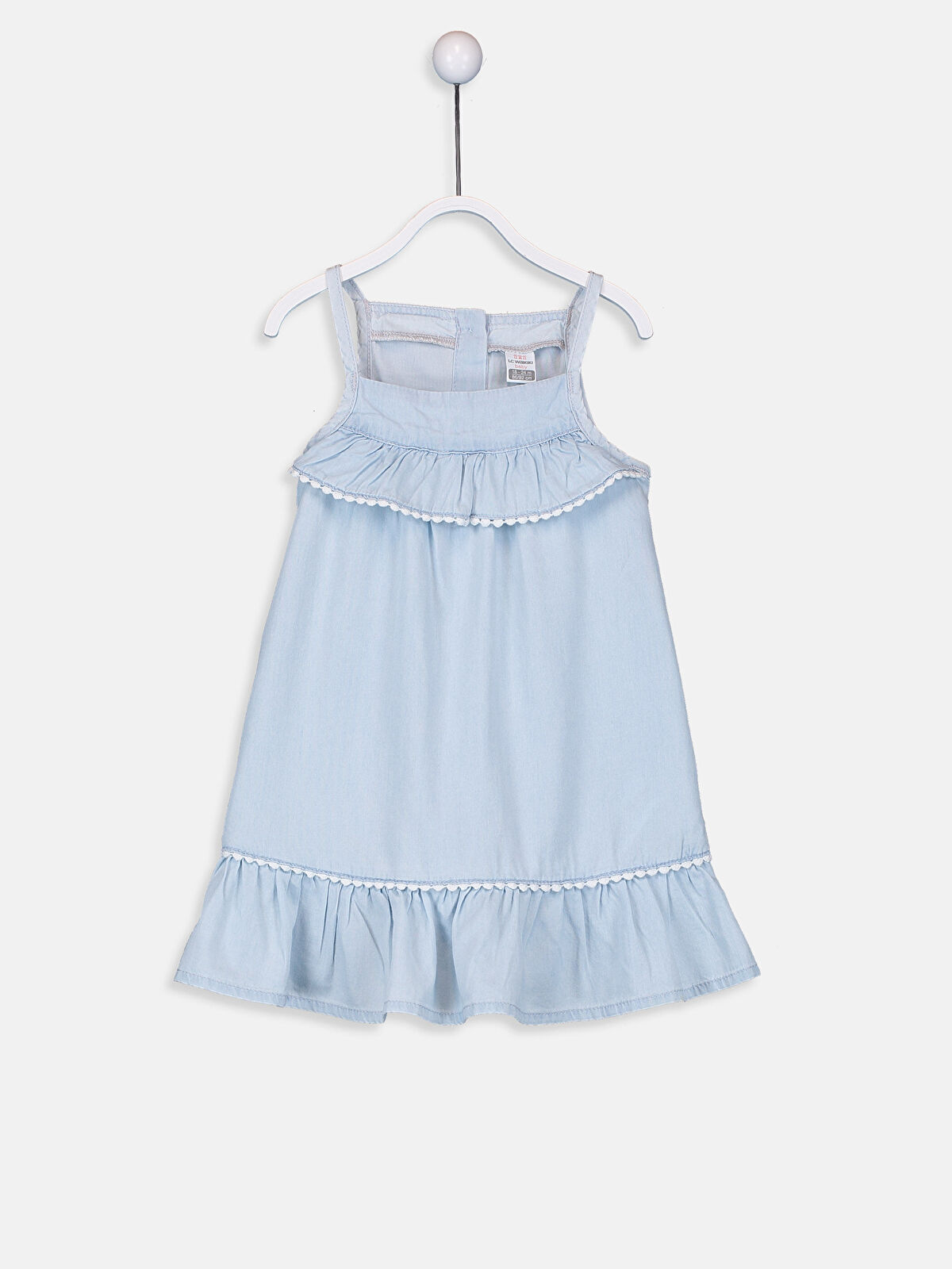 Kız Bebek Jean Elbise - LC WAIKIKI