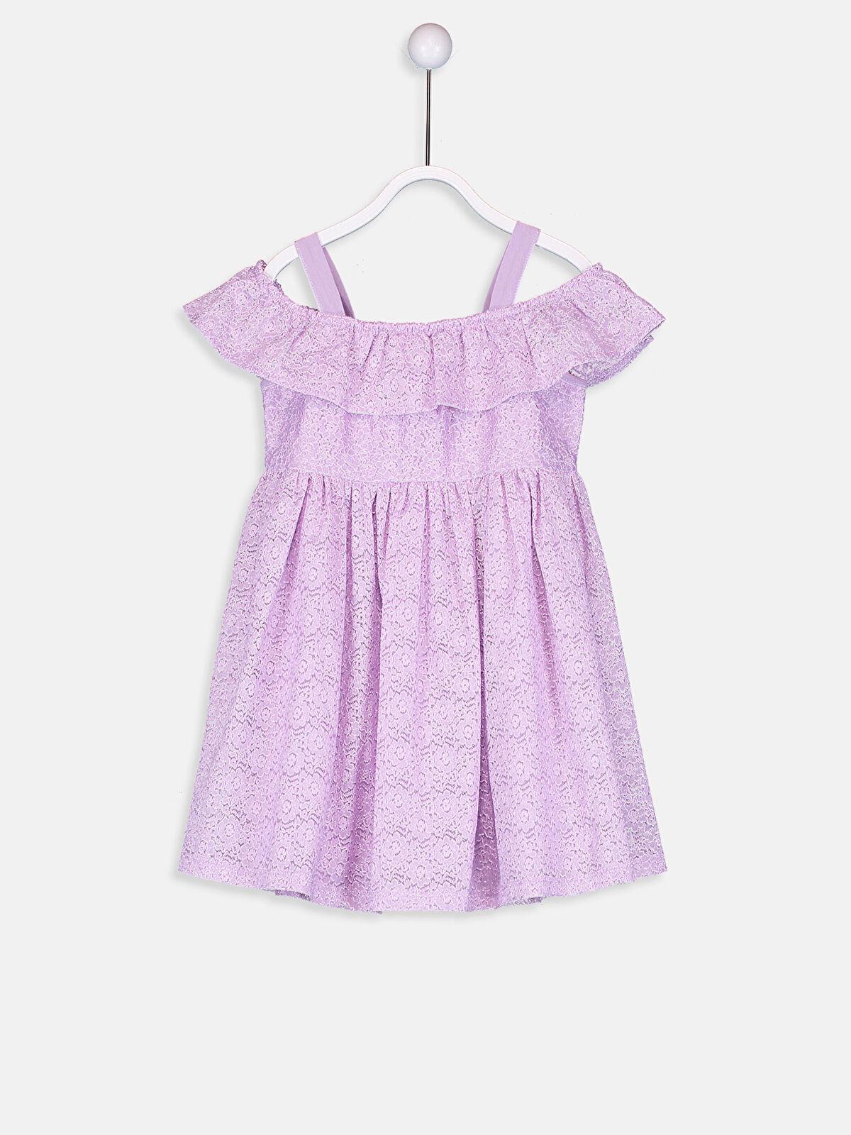 Kız Bebek Dantelli Elbise - LC WAIKIKI