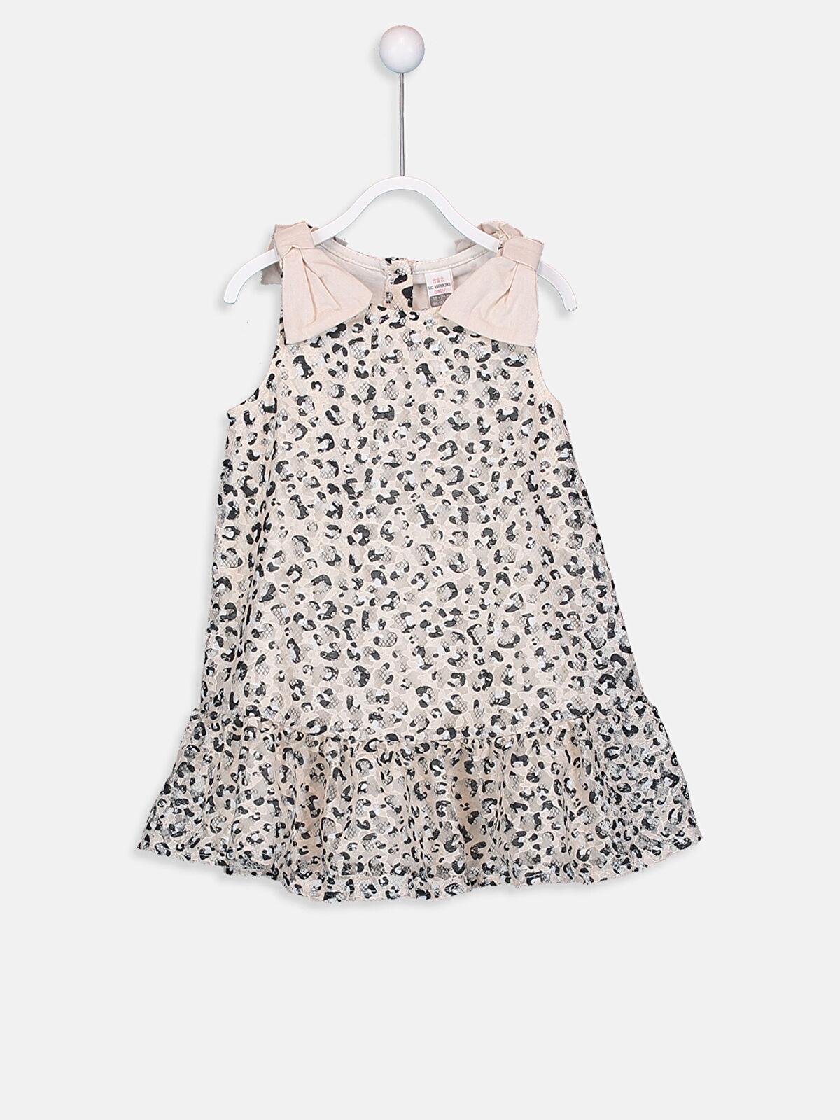 Kız Bebek Leopar Desenli Elbise - LC WAIKIKI