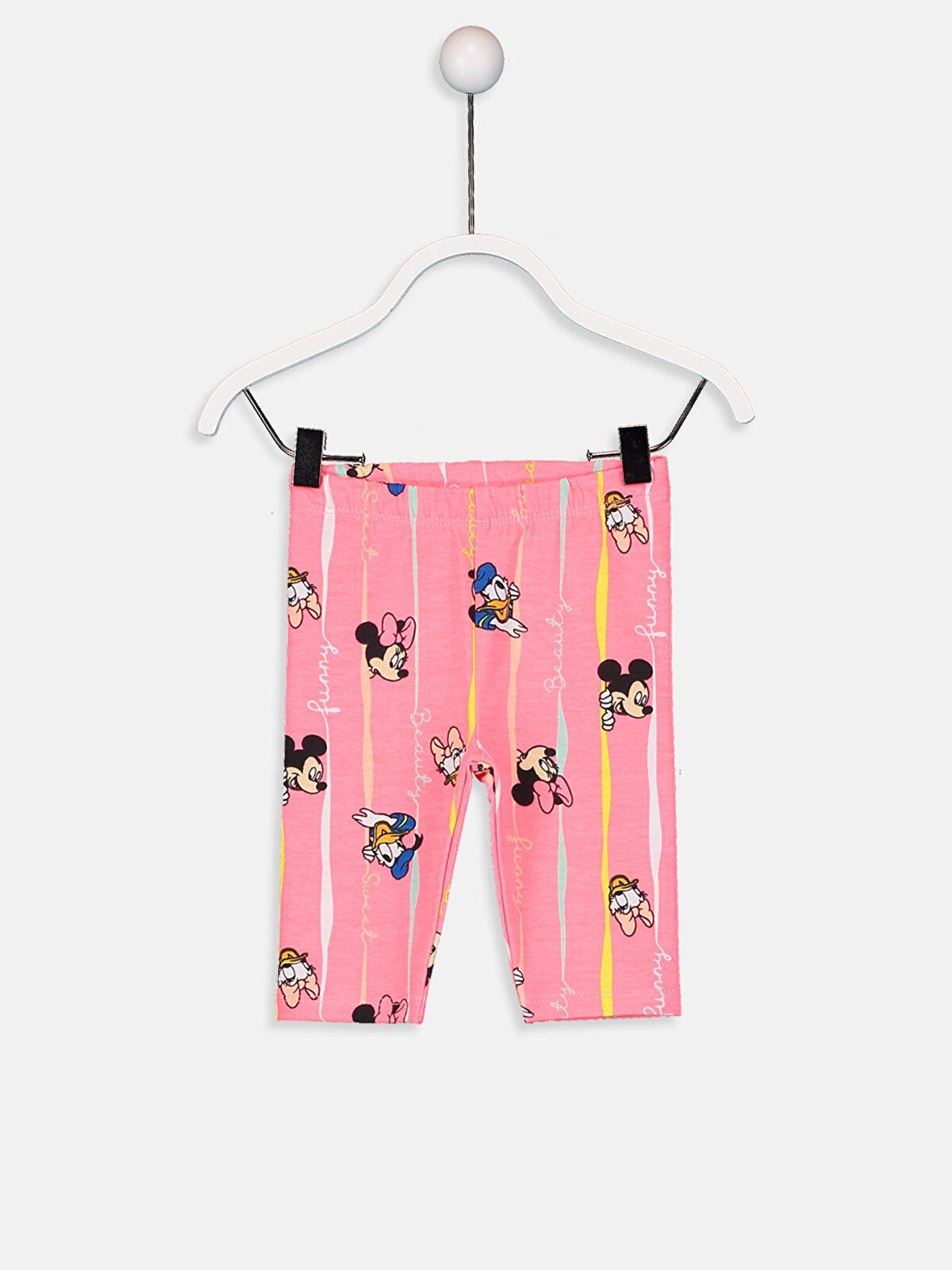 Kız Bebek Disney Baskılı Tayt - LC WAIKIKI
