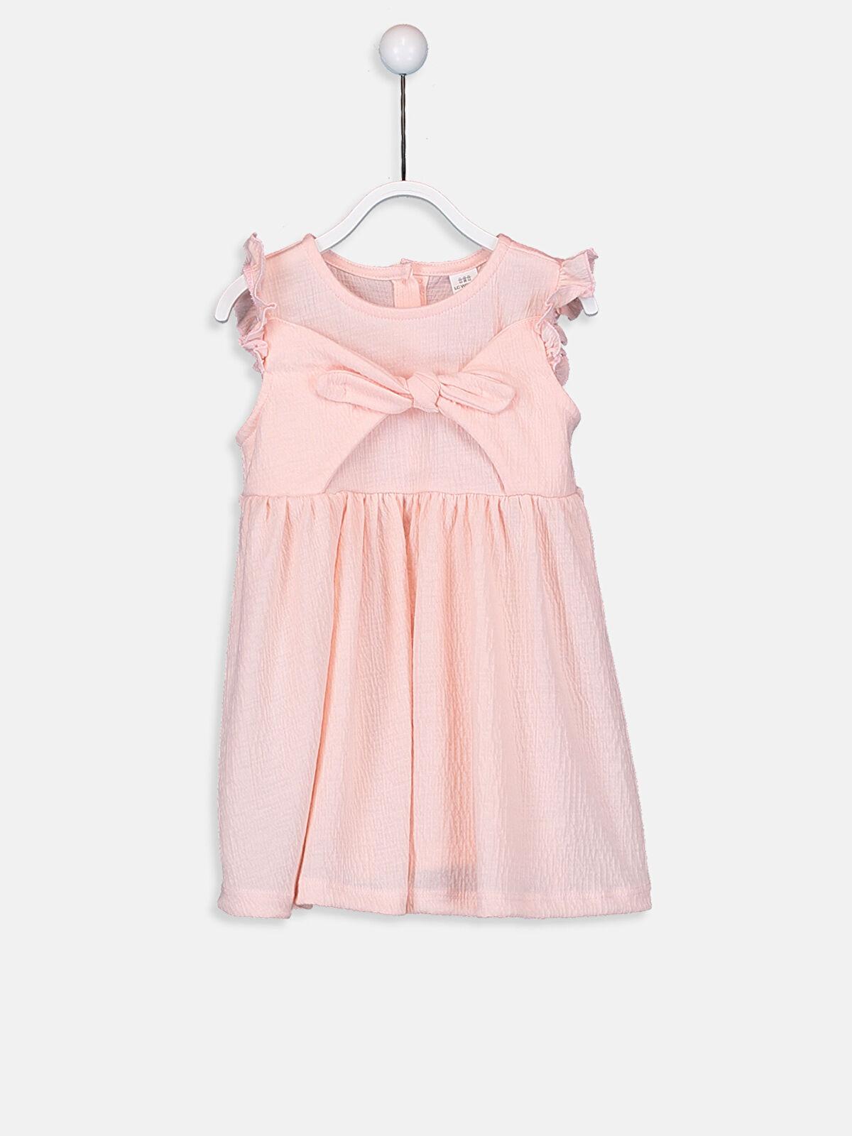 Kız Bebek Fırfır Detaylı Elbise - LC WAIKIKI
