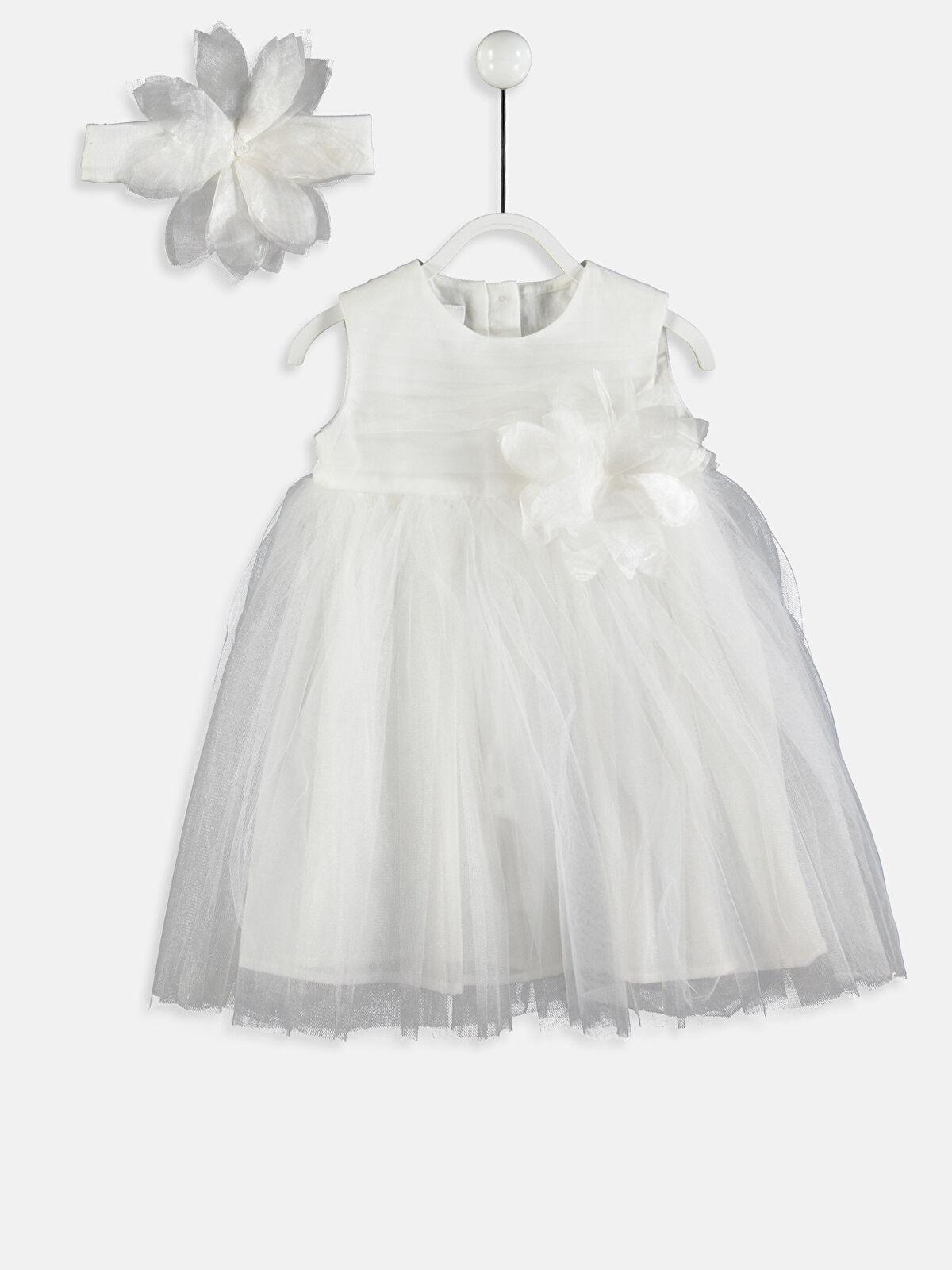 Kız Bebek Tütü Elbise ve Saç Bandı - LC WAIKIKI