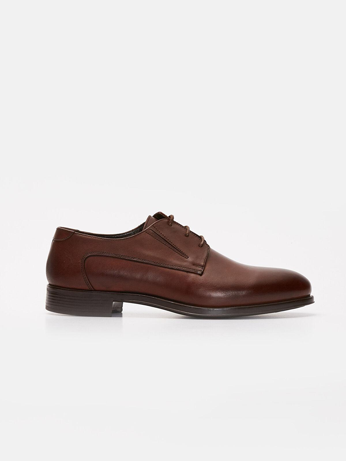 Erkek Bağcıklı Hakiki Deri Ayakkabı - LC WAIKIKI