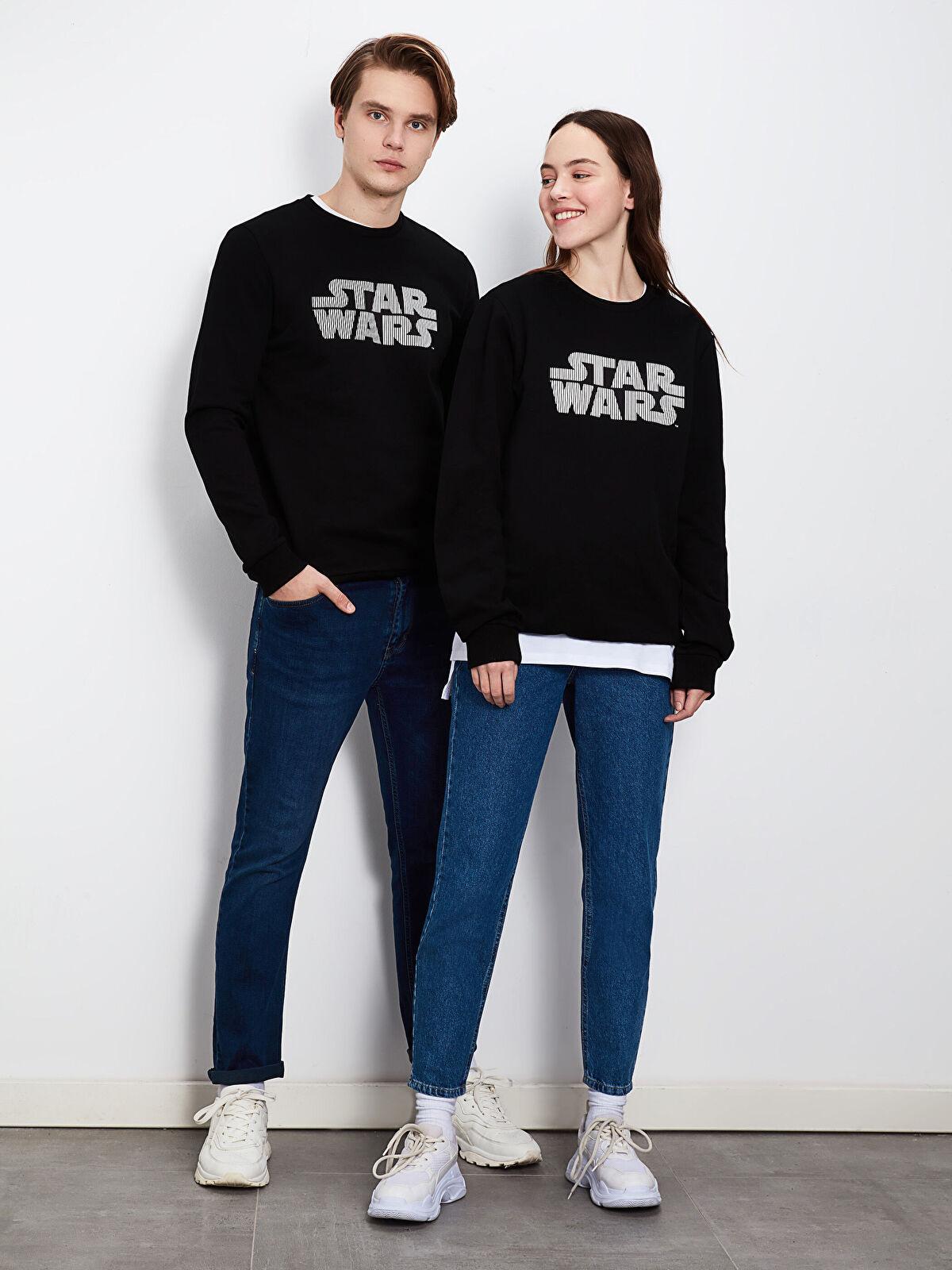Star Wars Baskılı İnce Sweatshirt - LC WAIKIKI