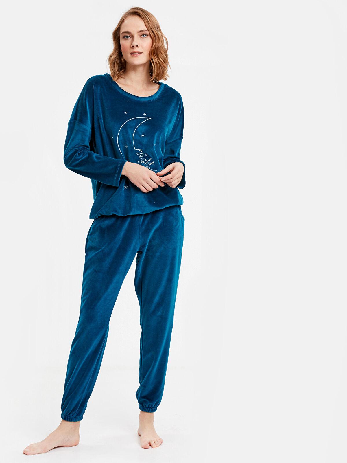 Kadife Pijama Takımı - LC WAIKIKI
