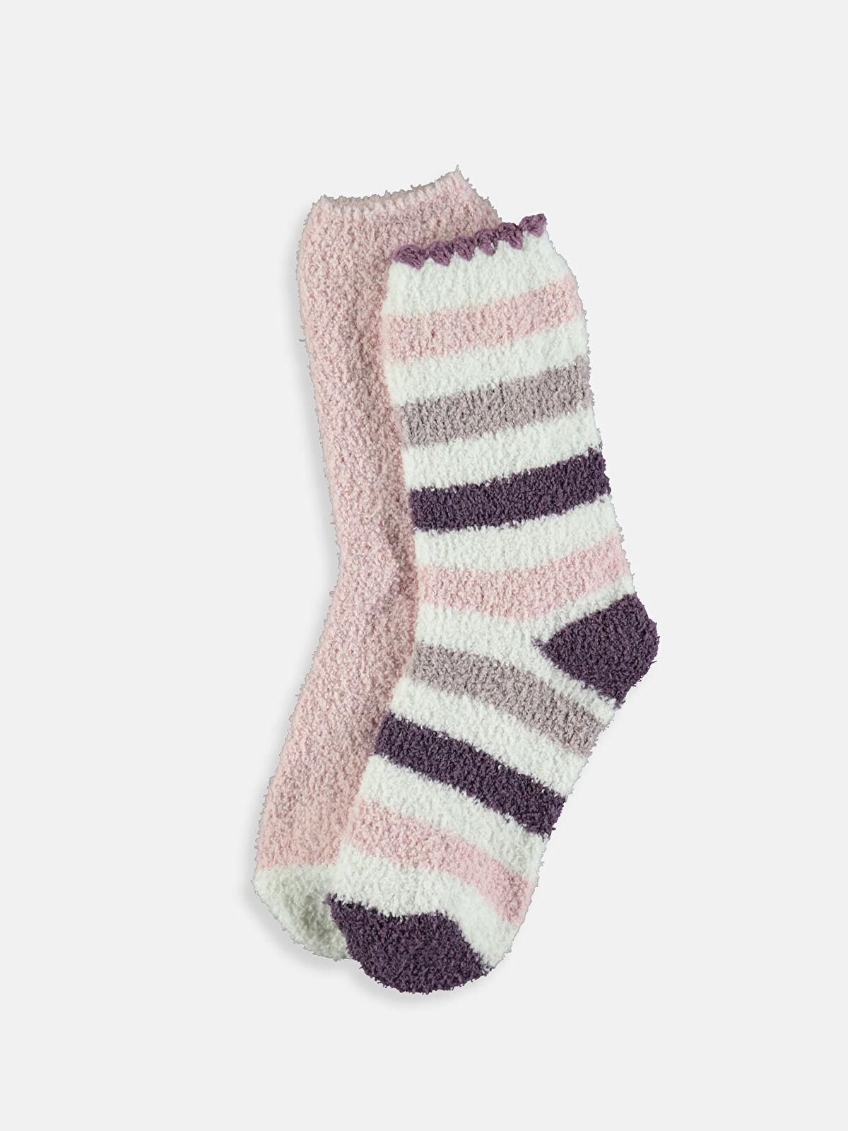 Kalın Ev Çorabı 2'li - LC WAIKIKI