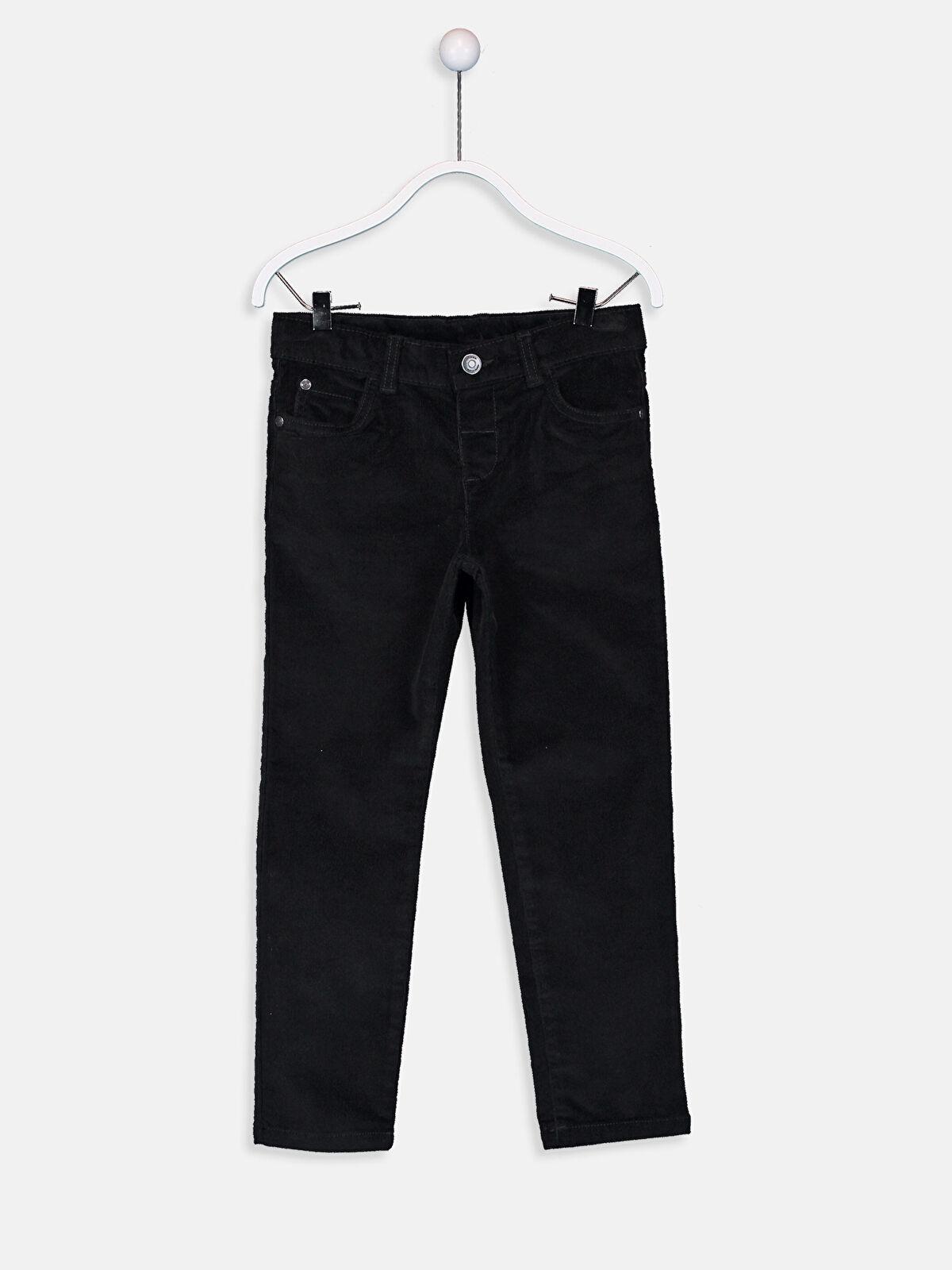Erkek Çocuk Slim Fit Kadife Pantolon - LC WAIKIKI