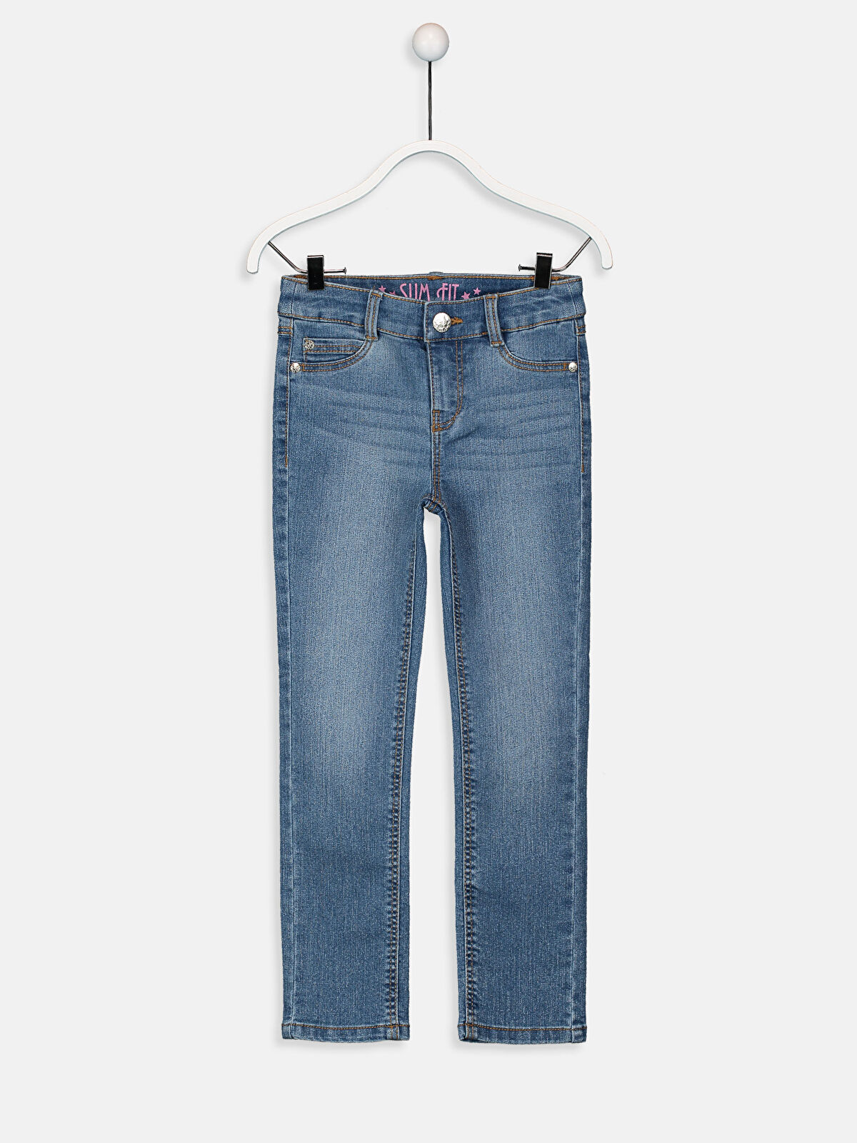 Kız Çocuk Slim Jean Pantolon - LC WAIKIKI
