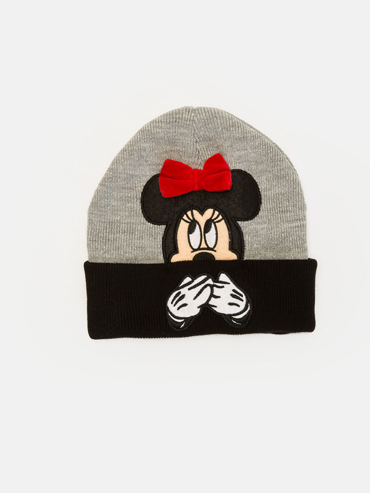 Kız Çocuk Minnie Mouse Nakışlı Bere - LC WAIKIKI