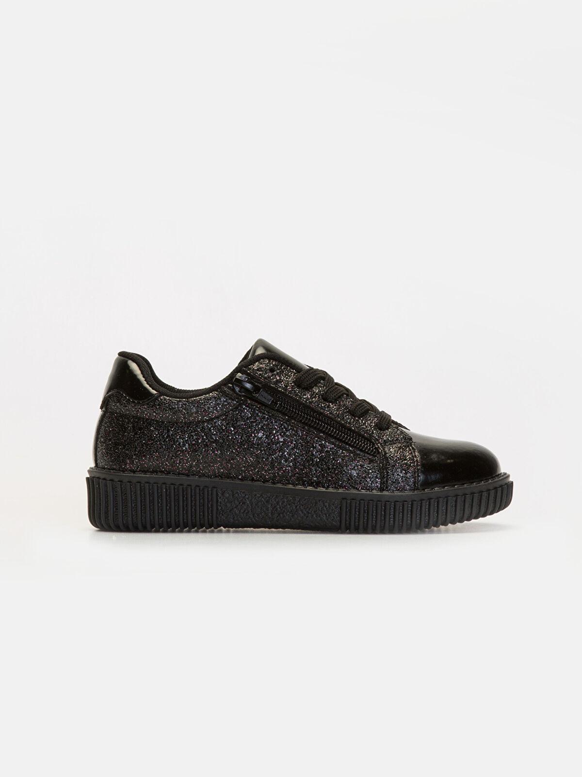 Kız Çocuk Simli Ayakkabı - LC WAIKIKI